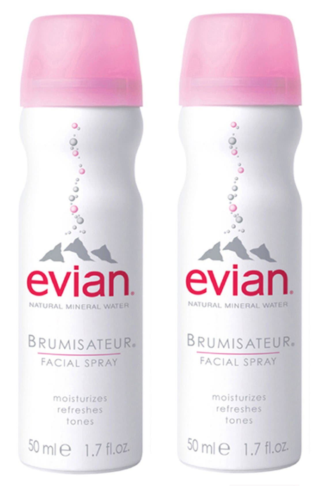 Mini Facial Water Spray Duo,                             Main thumbnail 1, color,                             NO COLOR