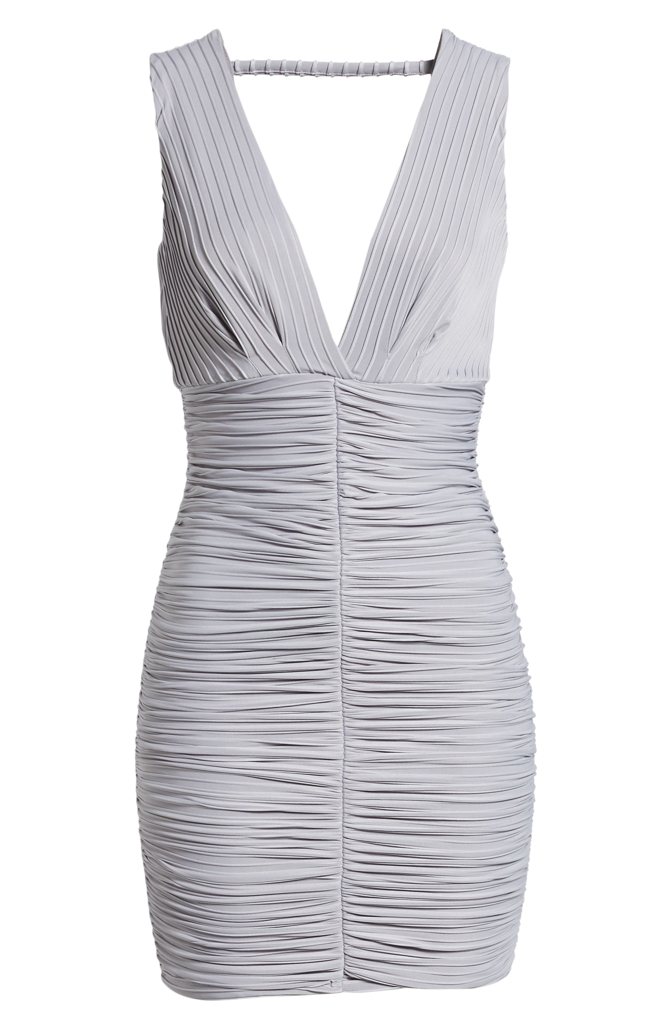 Ribbed Body-Con Dress,                             Alternate thumbnail 7, color,                             020