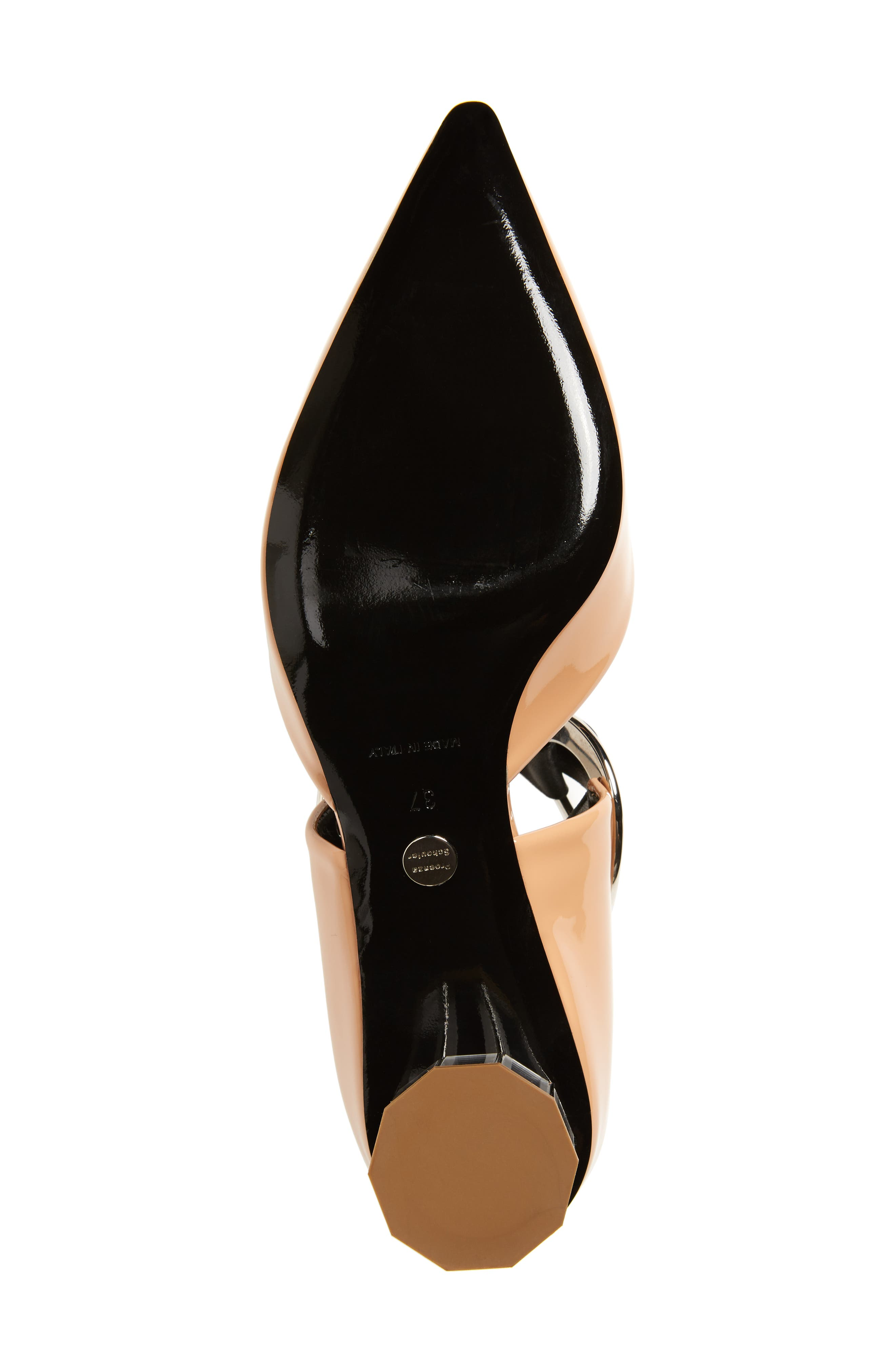 Ring Tie Pointy Toe Pump,                             Alternate thumbnail 25, color,