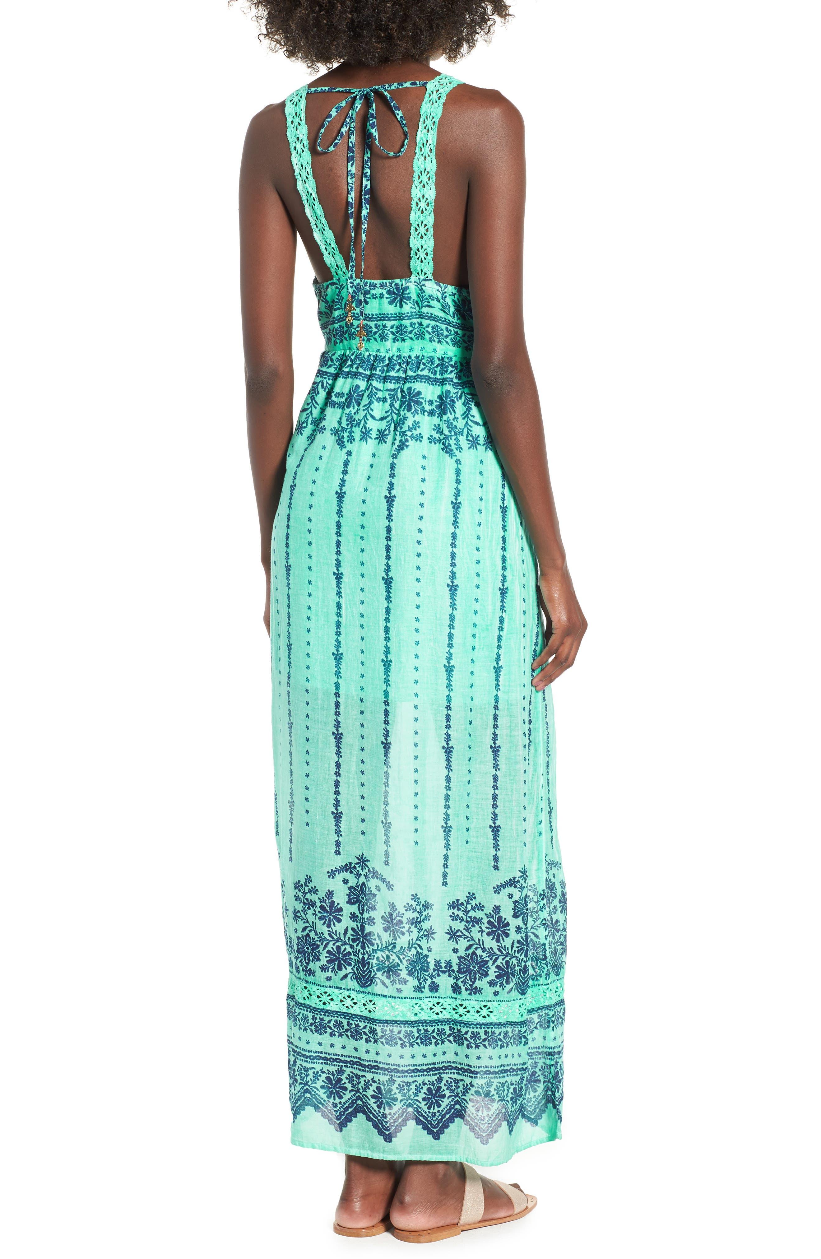 La Playita Maxi Dress,                             Alternate thumbnail 2, color,                             300