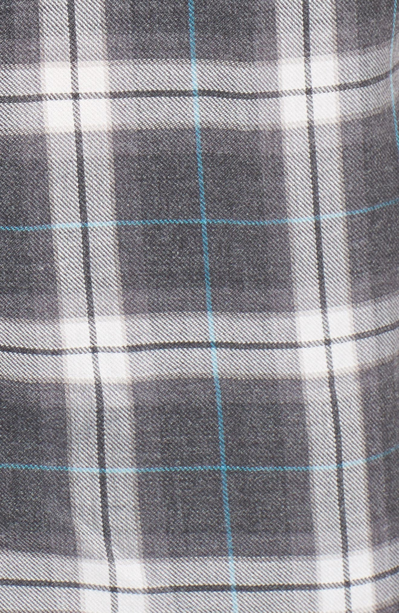 Plaid Shirt,                             Alternate thumbnail 5, color,                             001