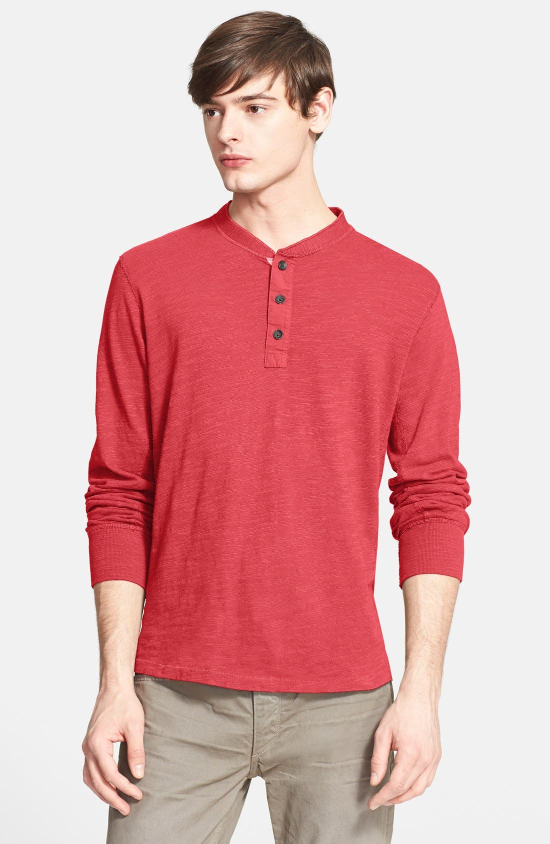 Standard Issue Slub Cotton Henley,                             Main thumbnail 12, color,