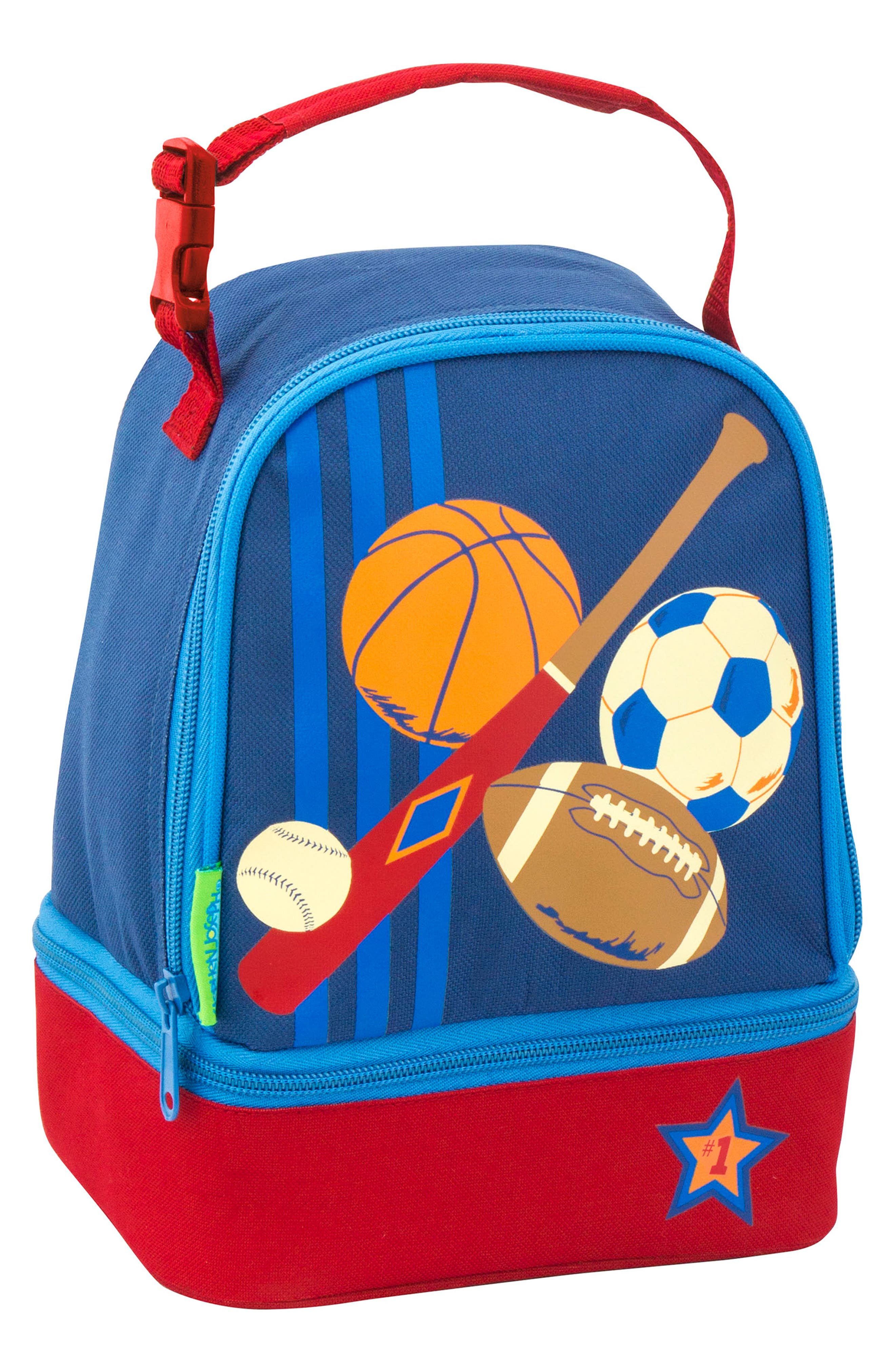 Sports Sidekick Backpack & Lunch Pal,                             Alternate thumbnail 7, color,                             SPORTS