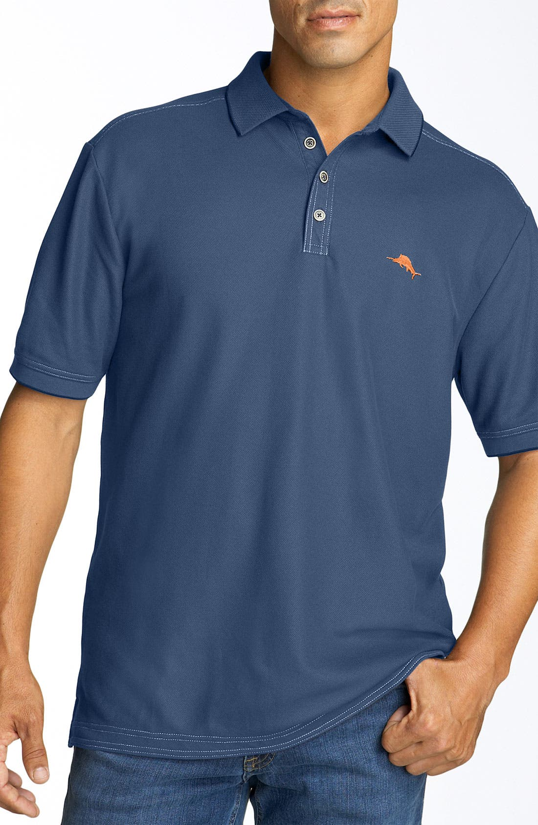 'The Emfielder' Original Fit Piqué Polo,                             Main thumbnail 56, color,