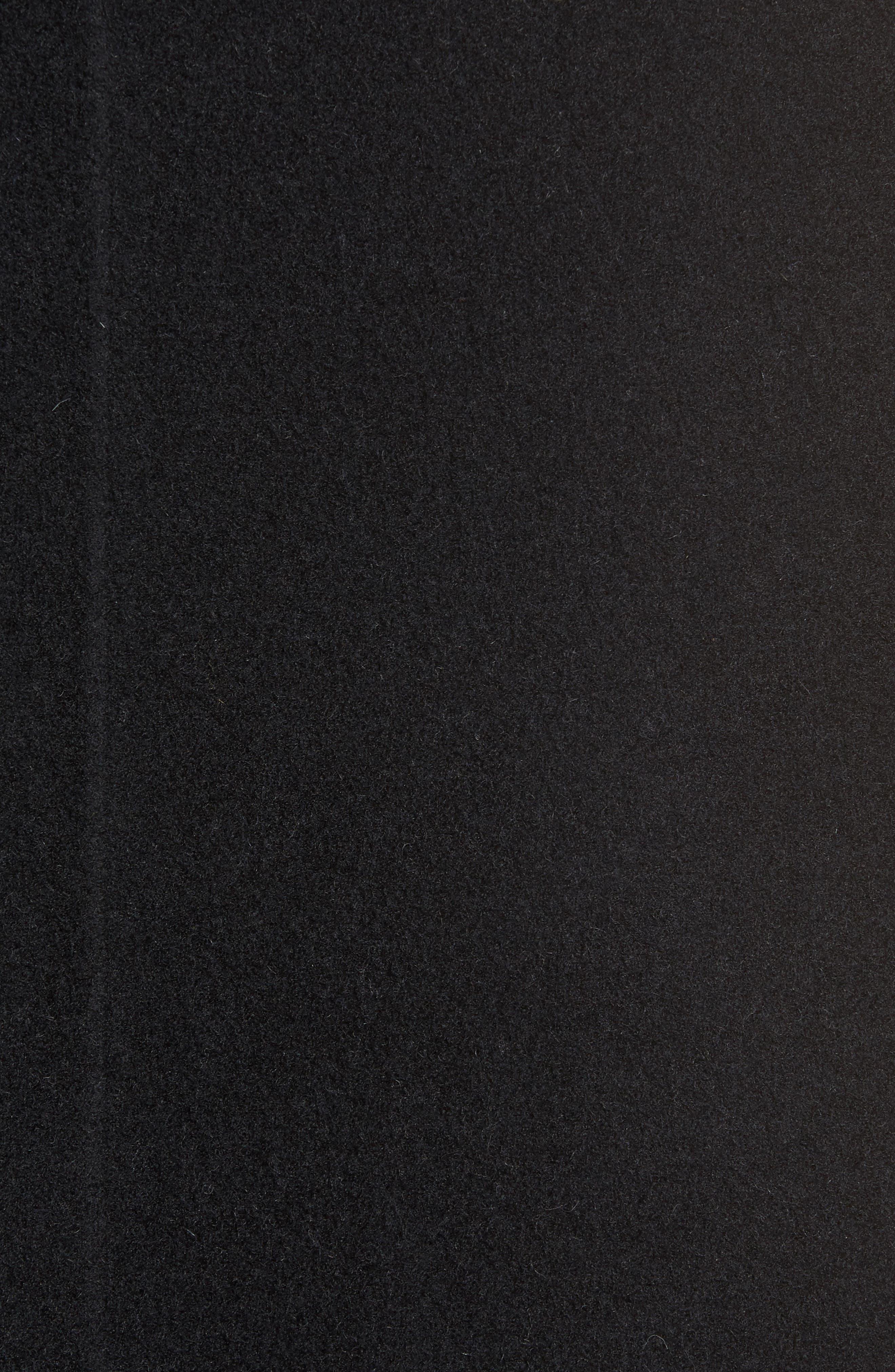 Long Wool Blend Vest,                             Alternate thumbnail 6, color,                             010