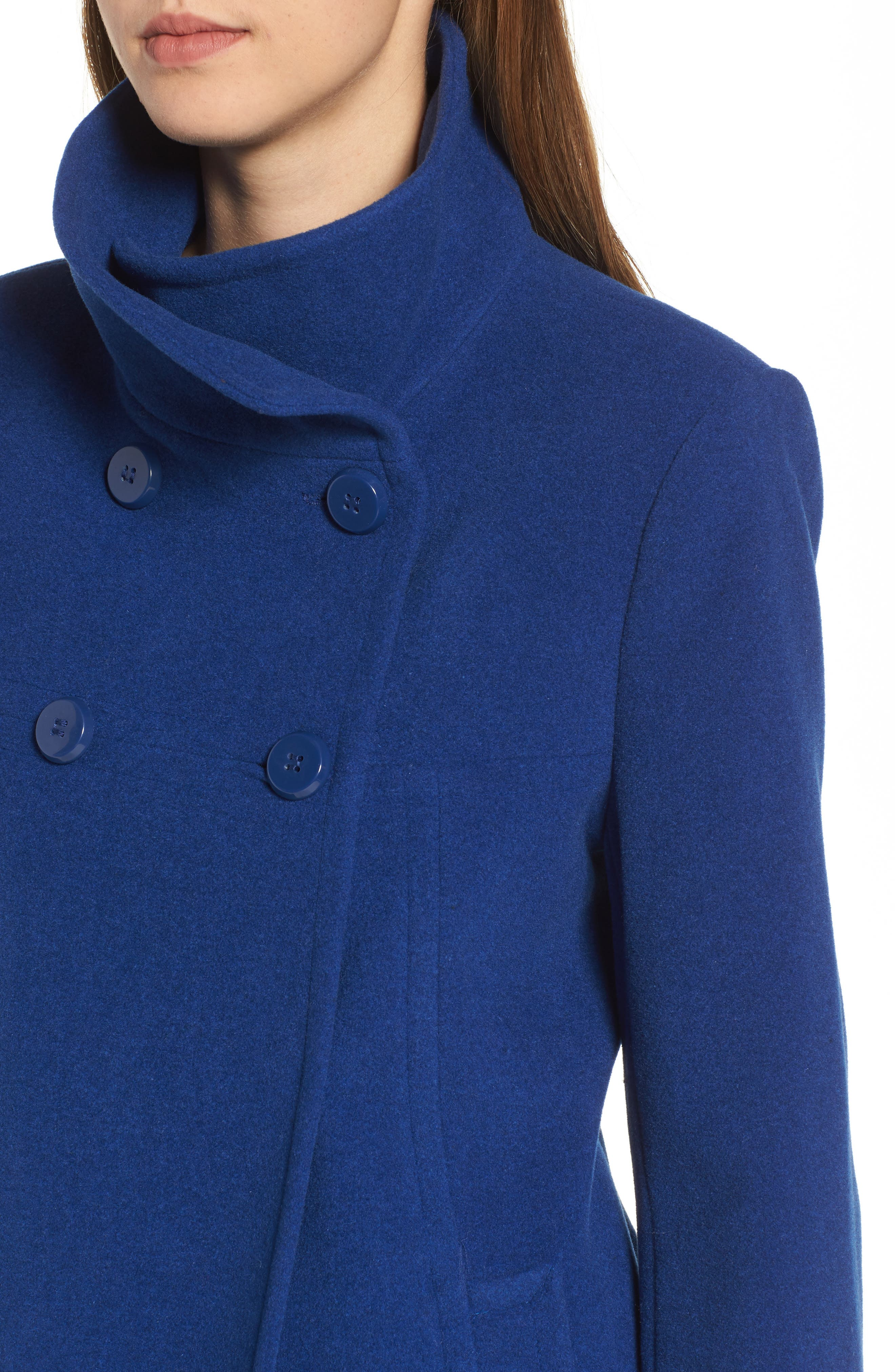 Double Breasted Coat,                             Alternate thumbnail 20, color,