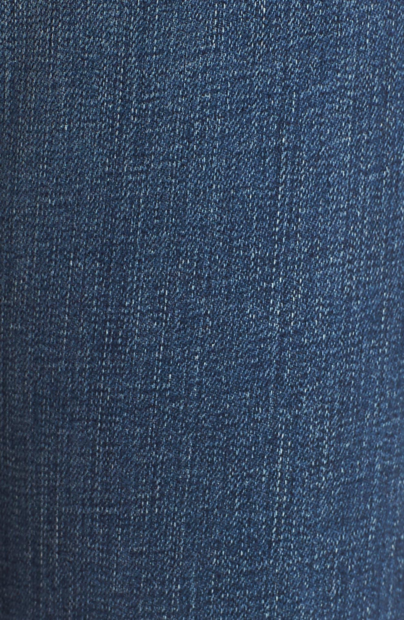 'The Farrah' High Rise Skinny Jeans,                             Alternate thumbnail 42, color,