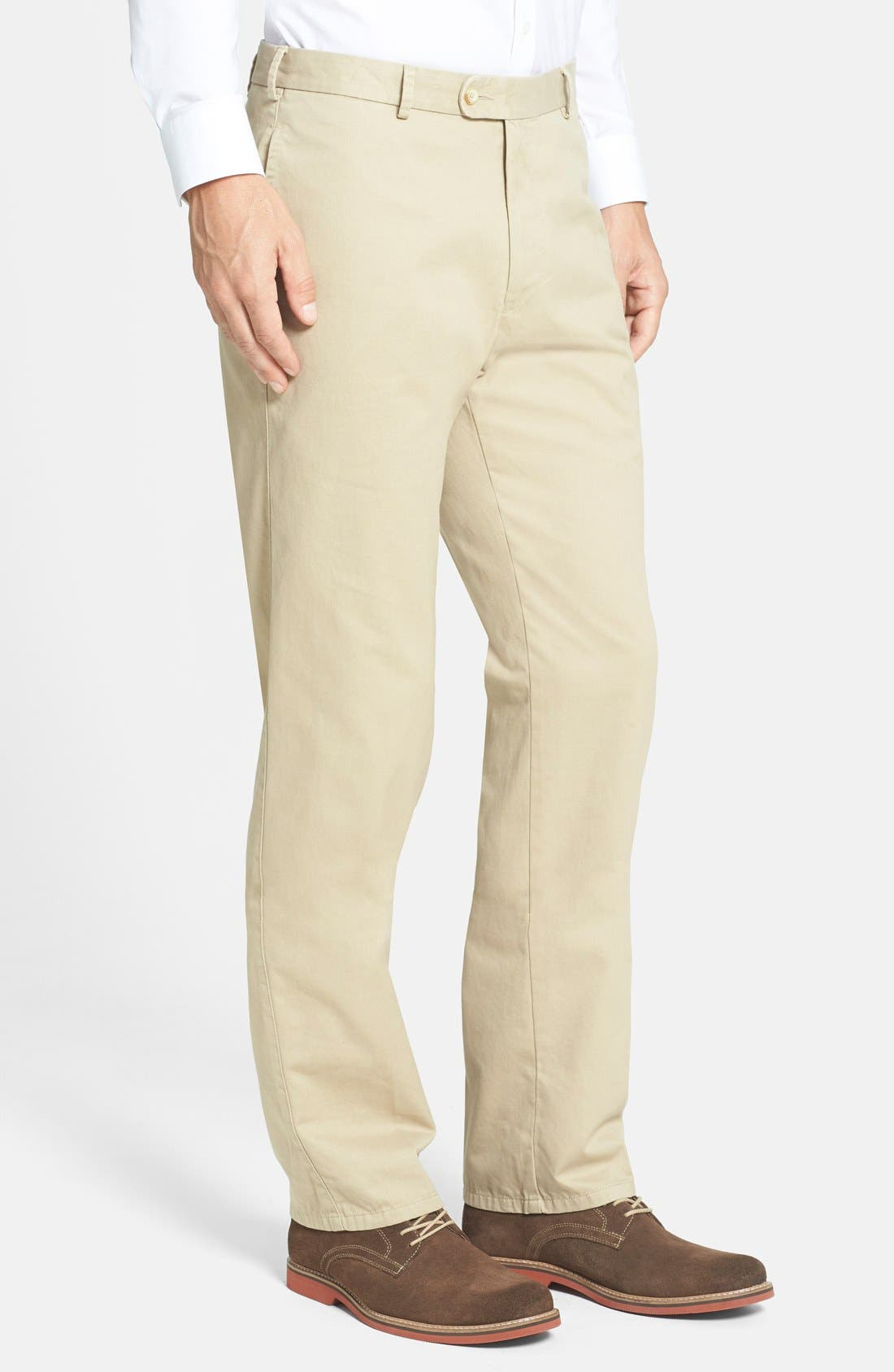 Garment Washed Twill Pants,                             Alternate thumbnail 44, color,