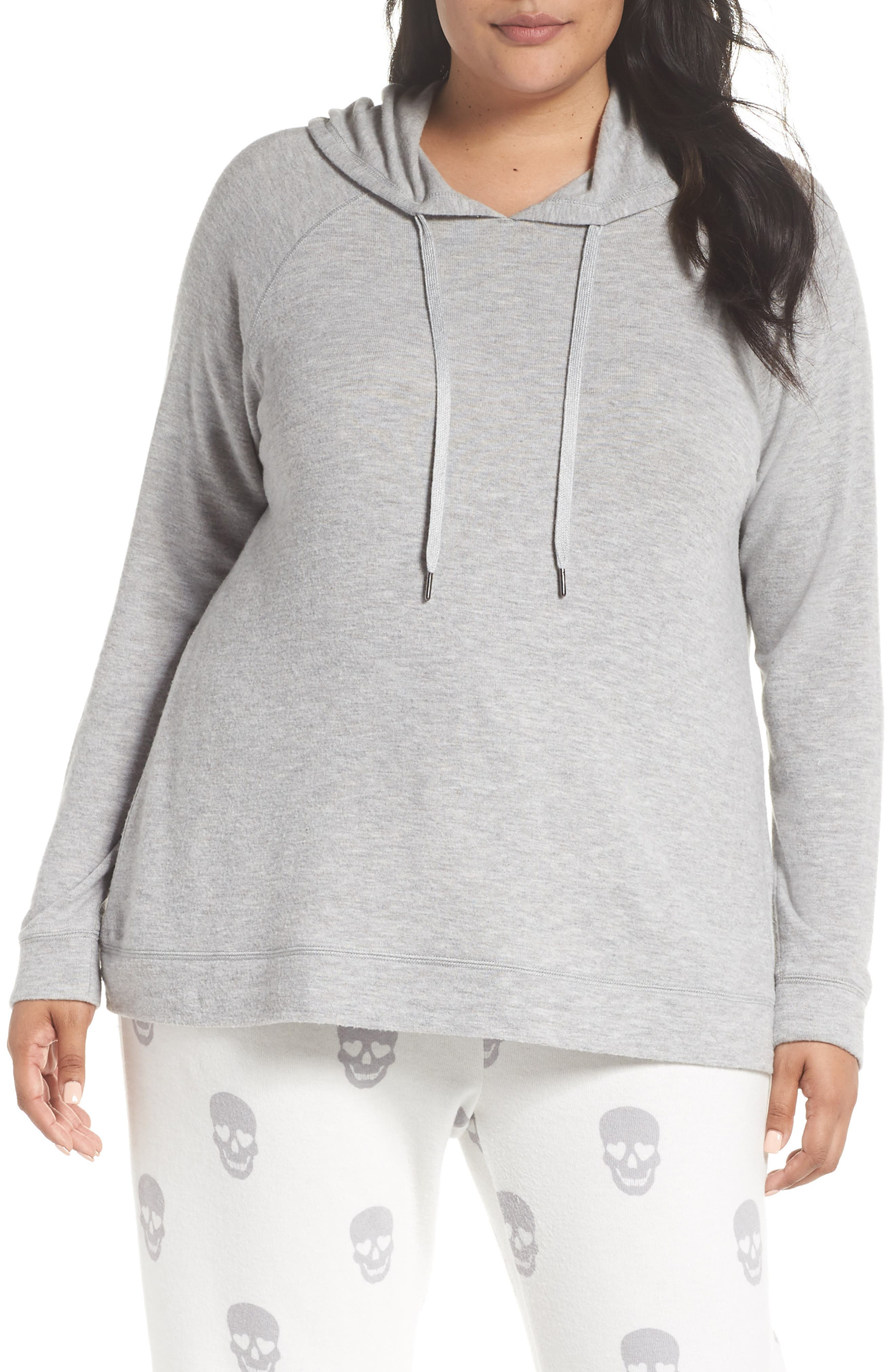 Love is a Battle Hoodie,                             Main thumbnail 1, color,                             H GREY