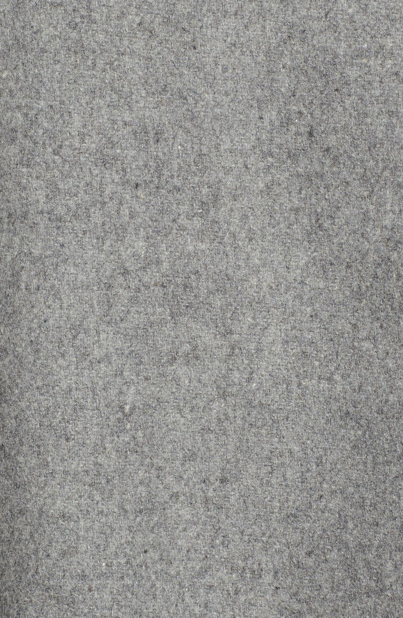 Fida Leather Fringe Shawl,                             Alternate thumbnail 10, color,