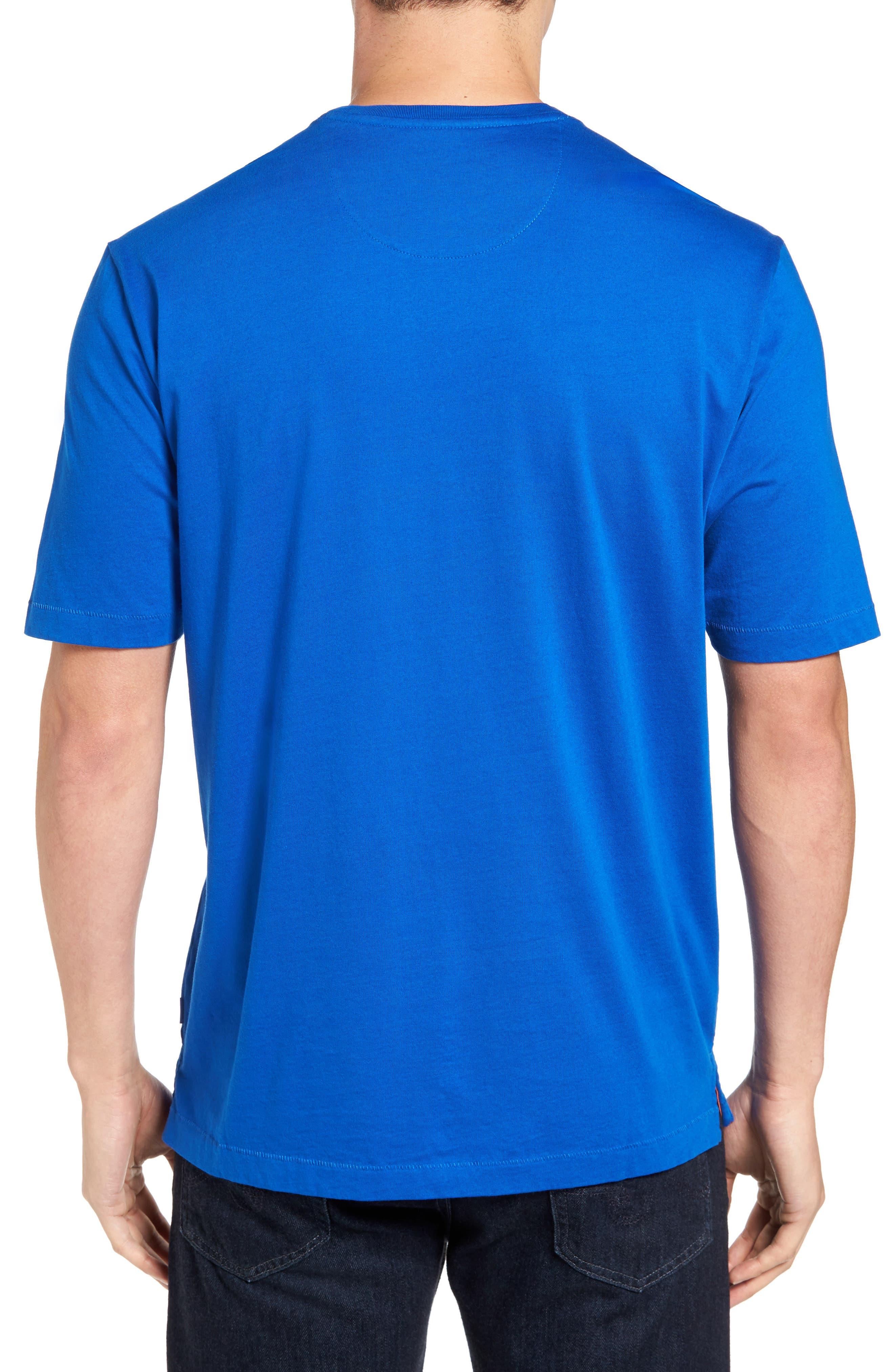 New Bali Sky Pima Cotton Pocket T-Shirt,                             Alternate thumbnail 74, color,