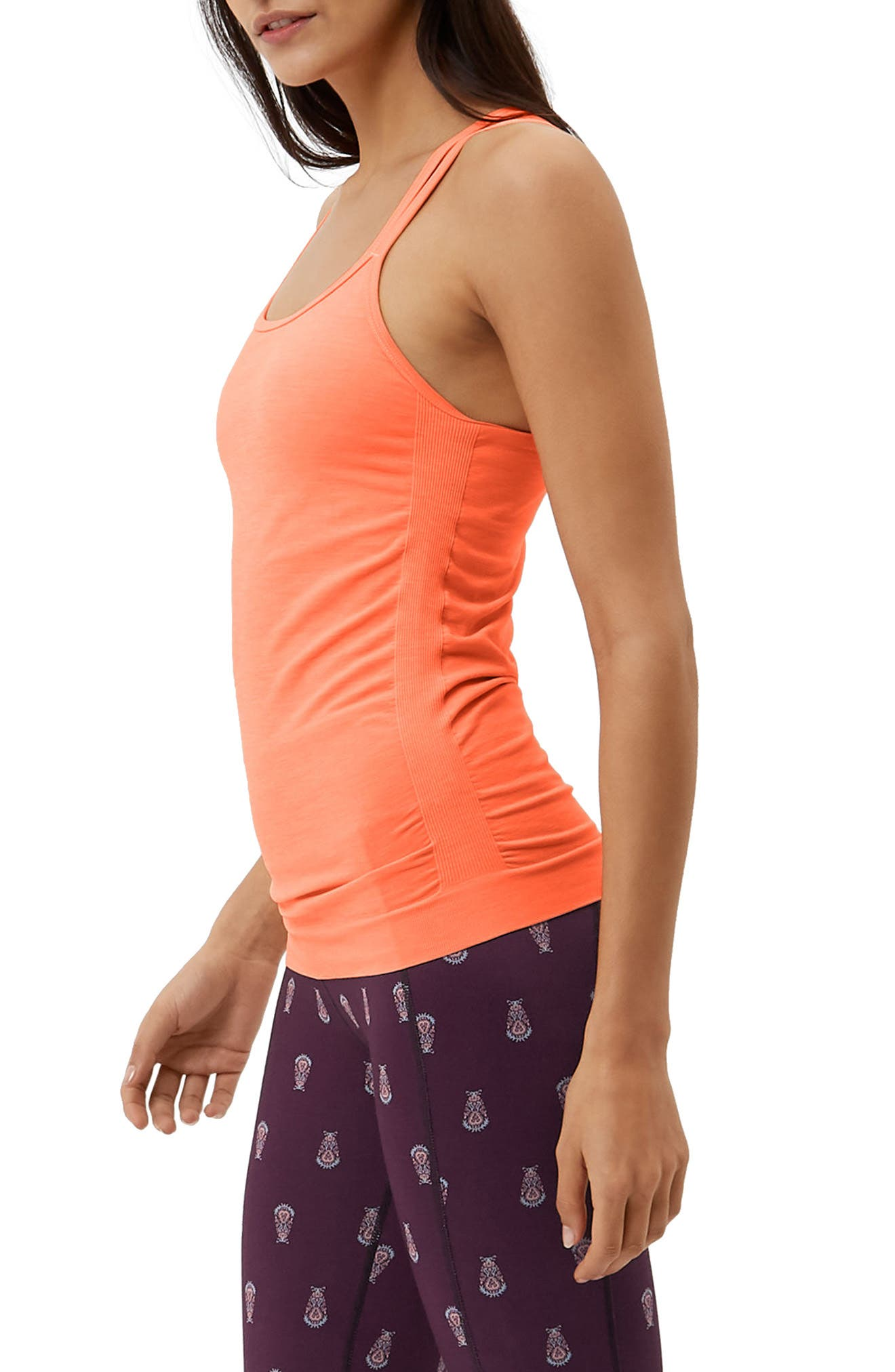 Namaska Yoga Tank,                             Alternate thumbnail 6, color,