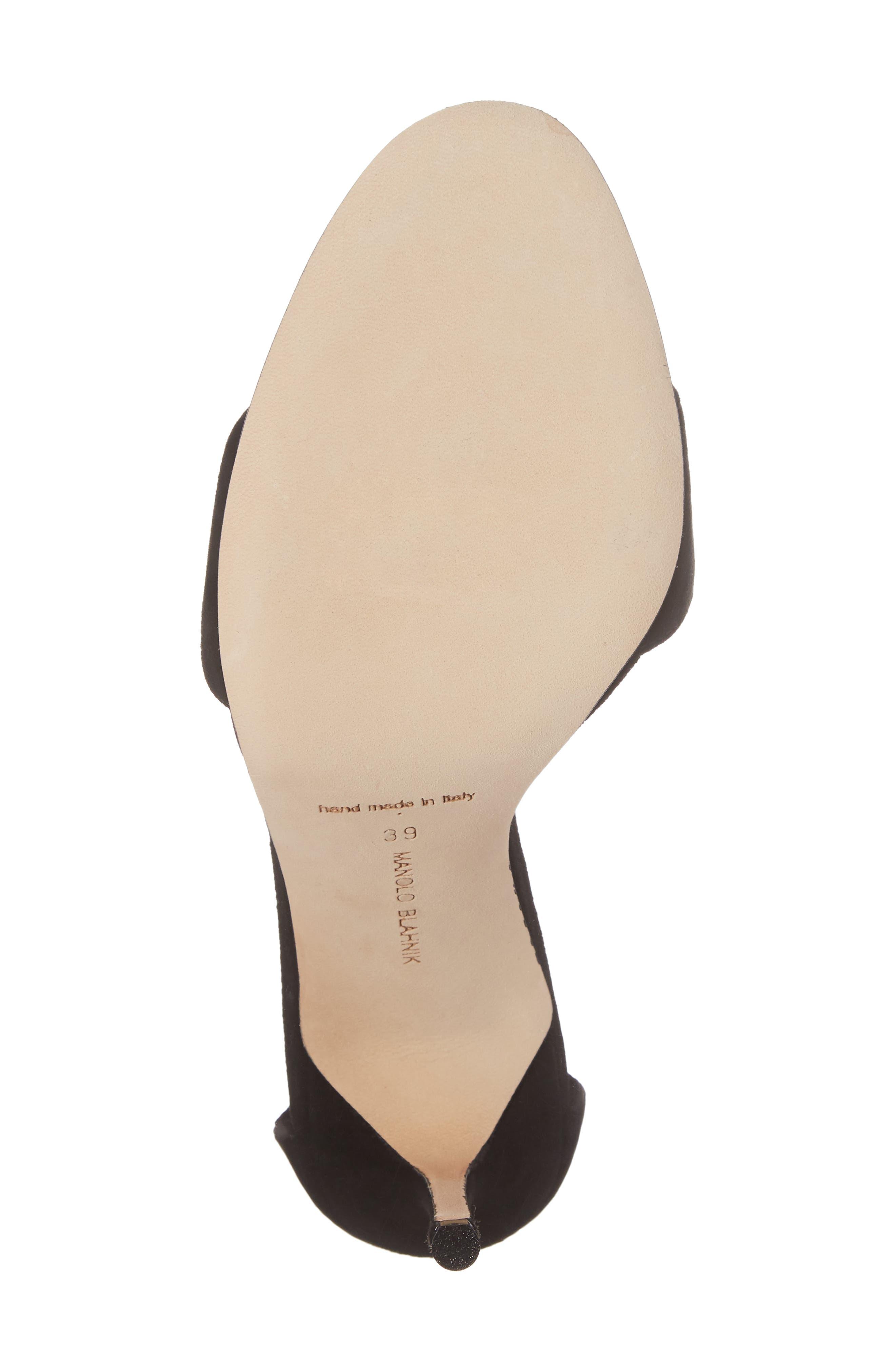 Tres Ankle Strap Sandal,                             Alternate thumbnail 6, color,                             002