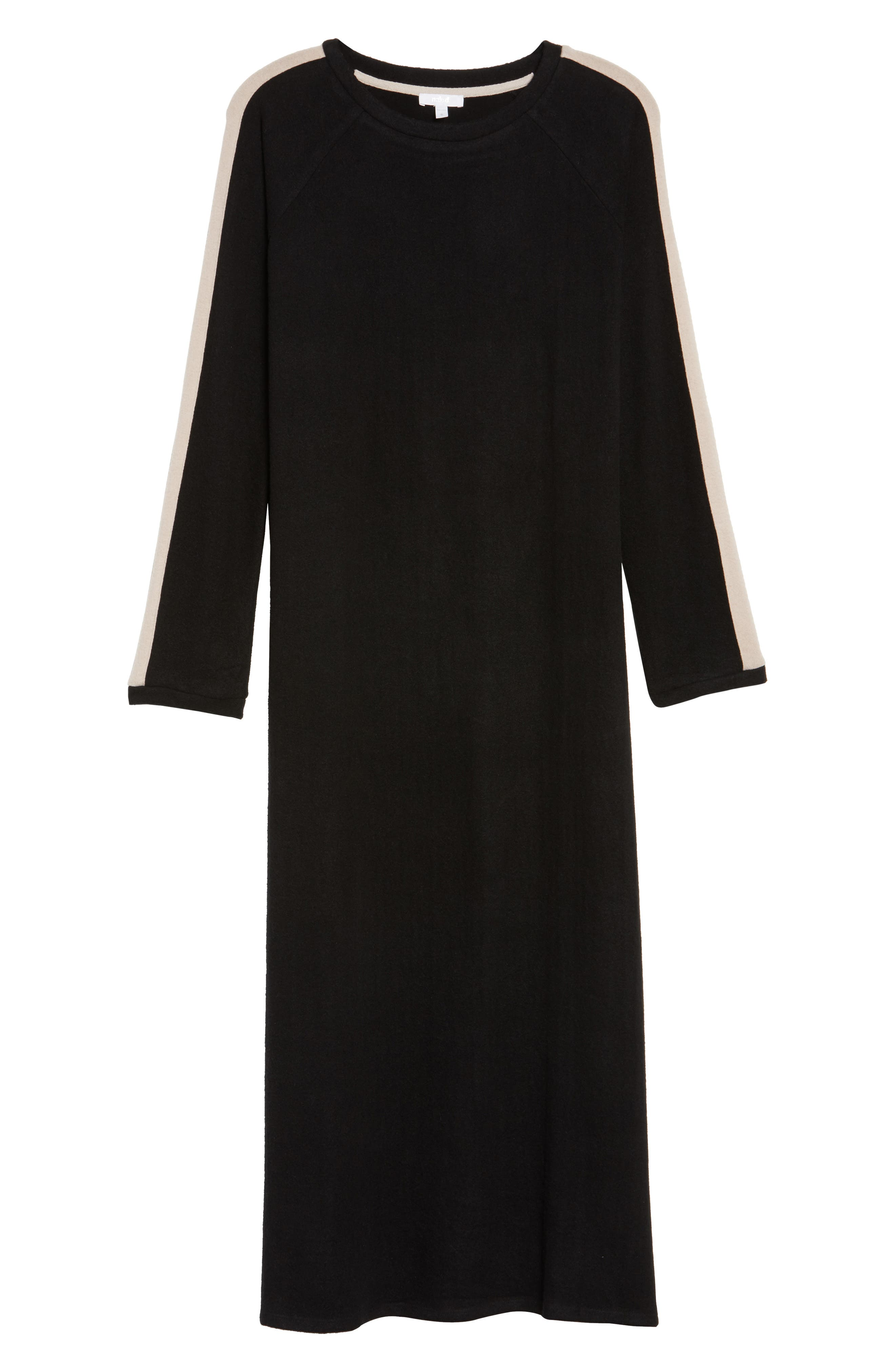 Maxi Nightgown,                             Alternate thumbnail 6, color,                             001