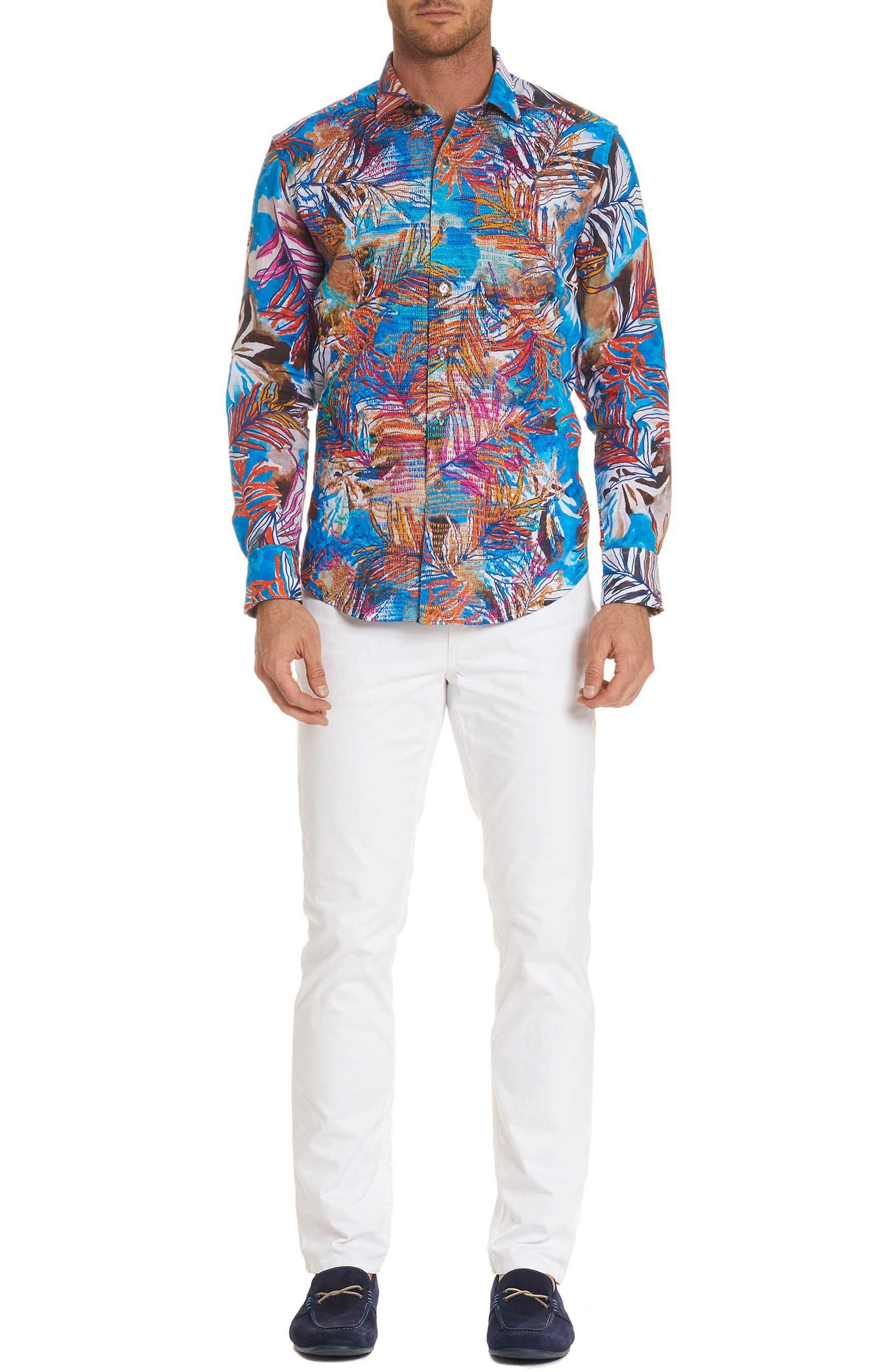 Kingpin Louie Limited Edition Classic Fit Linen Sport Shirt,                             Alternate thumbnail 6, color,                             400