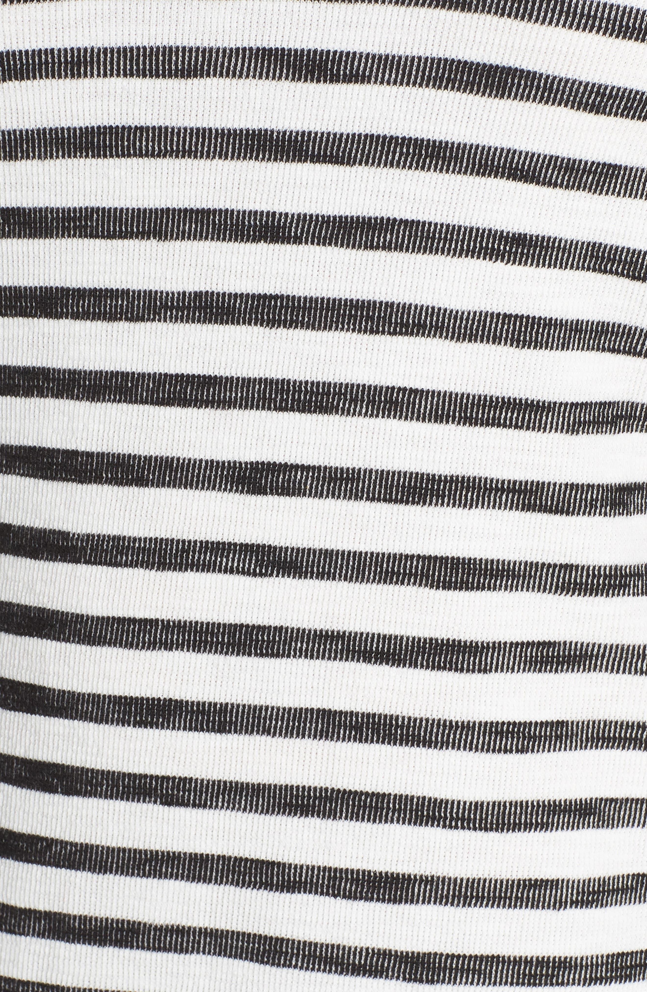 Button Back Knit Dress,                             Alternate thumbnail 6, color,                             901