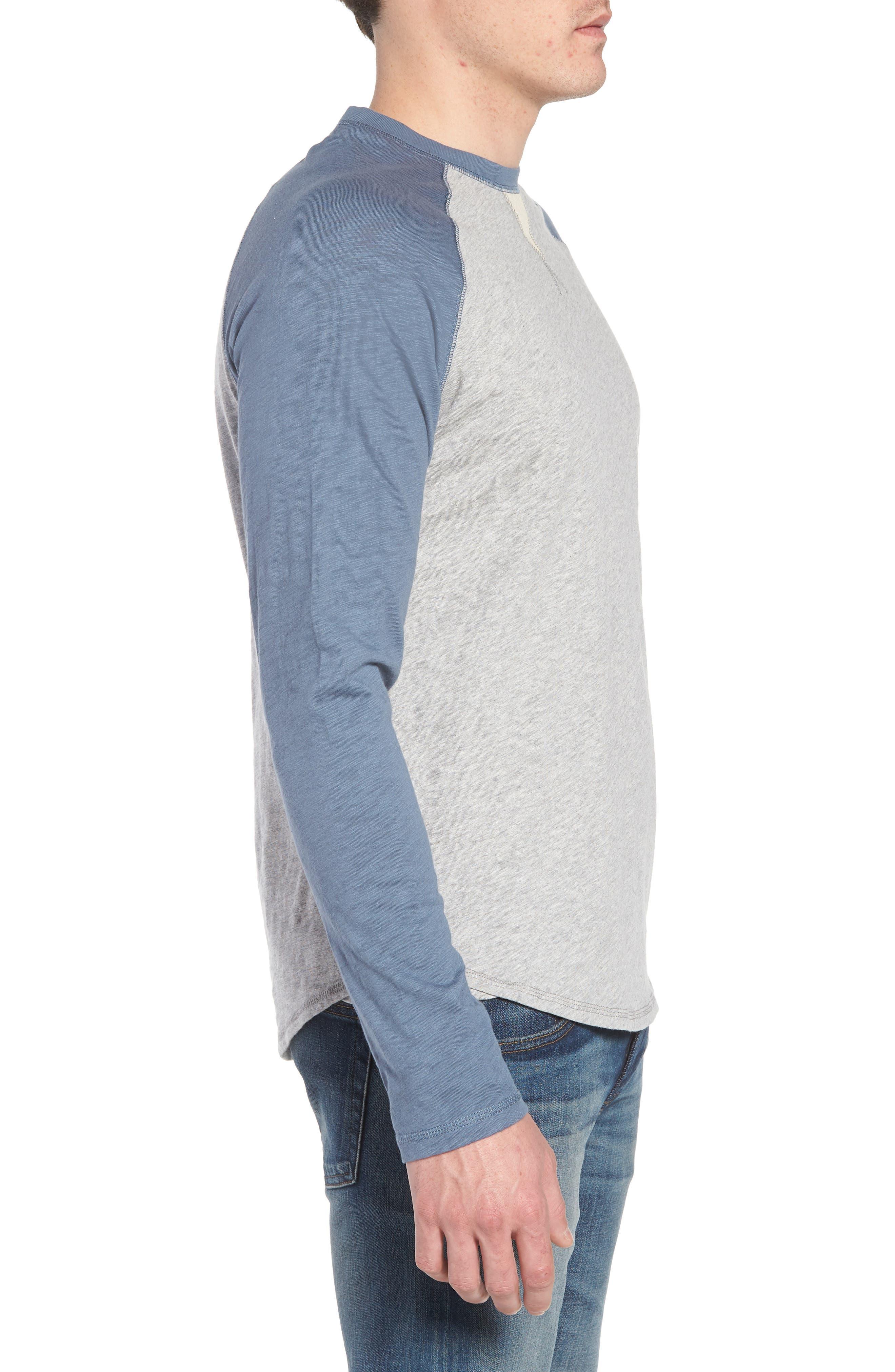 Vintage Raglan Shirt,                             Alternate thumbnail 9, color,