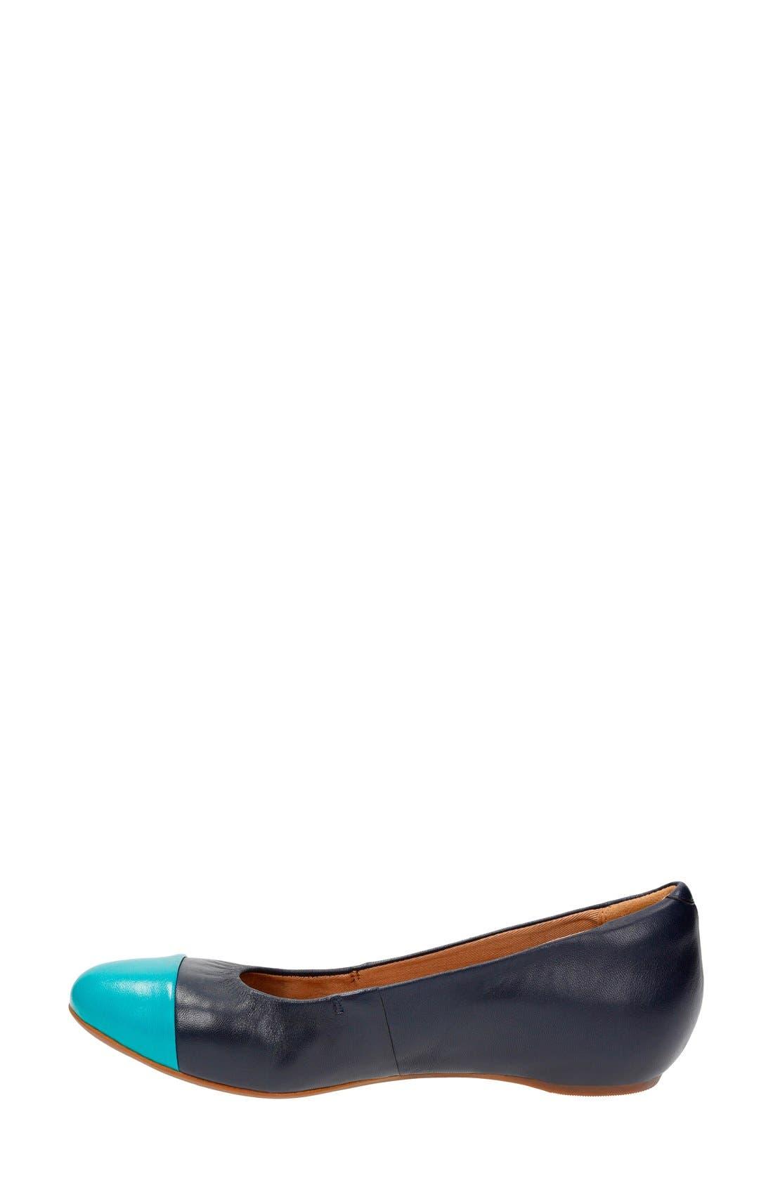 'Alitay Susan' Cap Toe Flat,                             Alternate thumbnail 10, color,