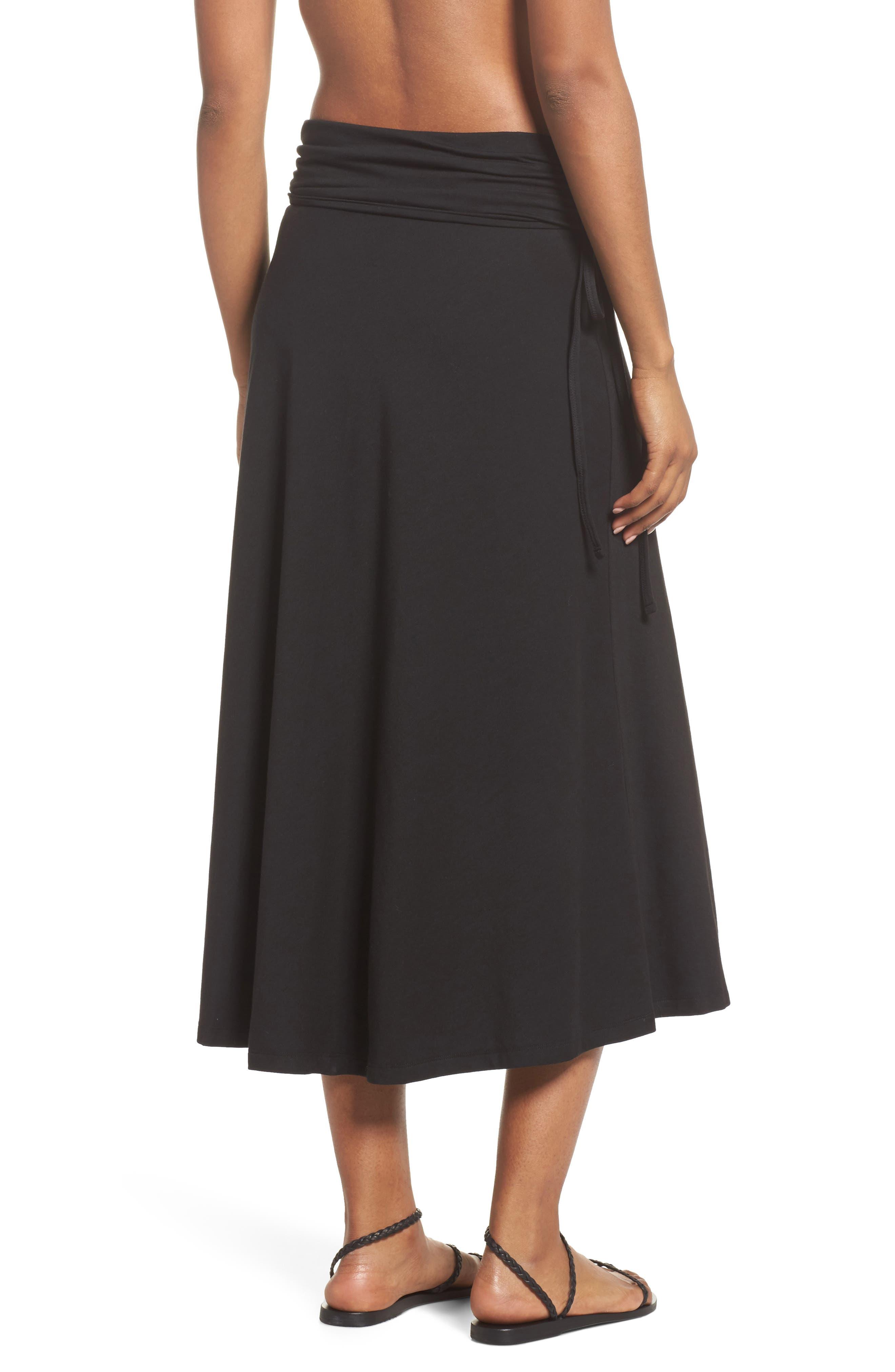 Kamala Maxi Skirt,                             Alternate thumbnail 3, color,                             001