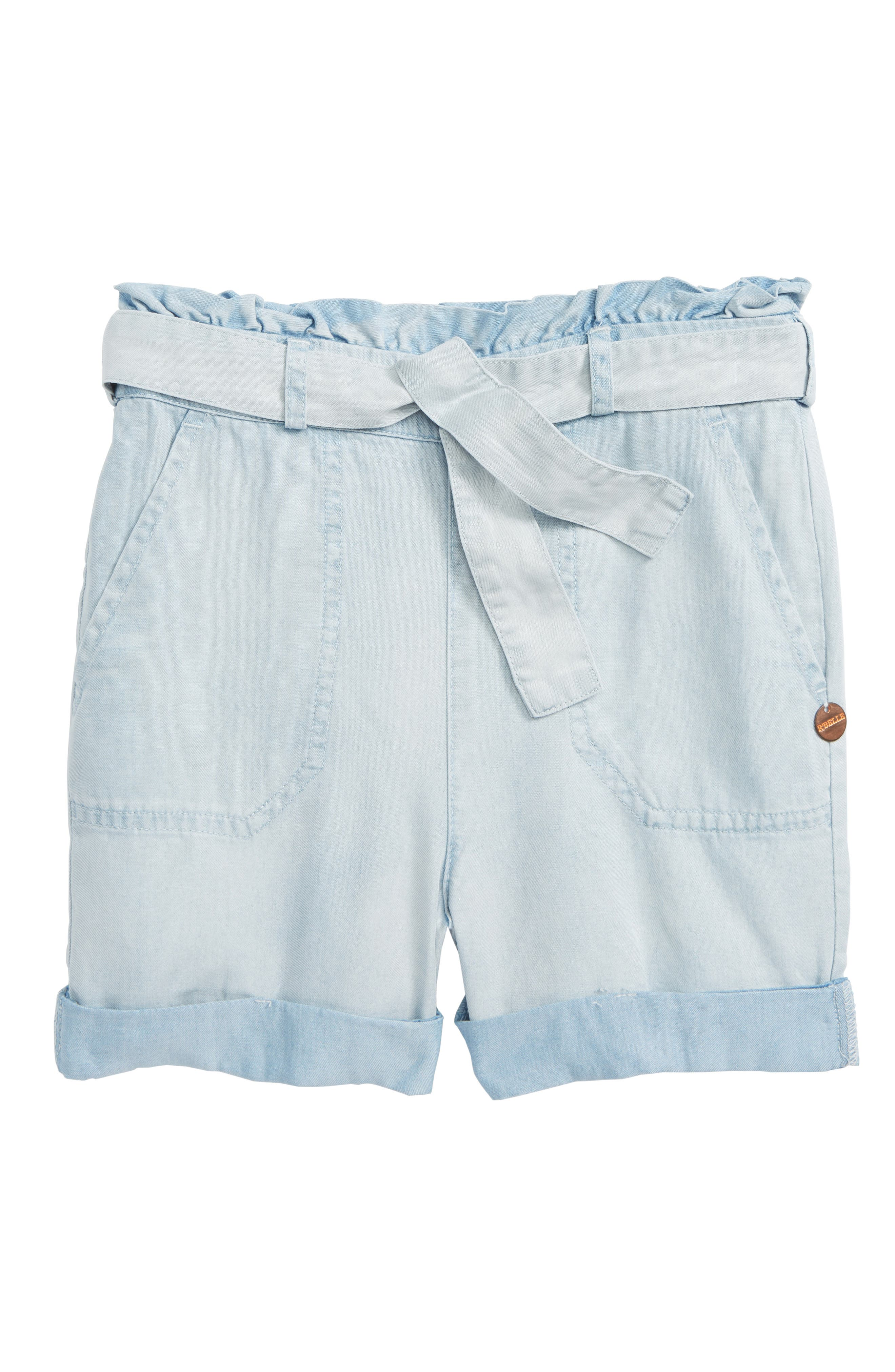 Scotch R'Belle Chambray Shorts,                             Main thumbnail 1, color,                             400