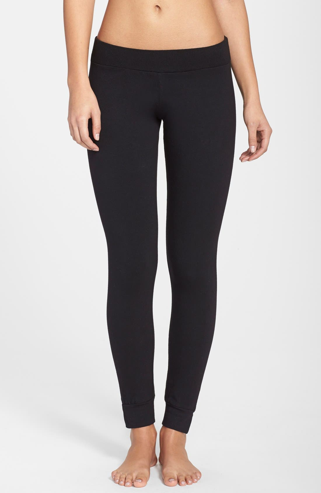 MONROW Yoga Leggings, Main, color, 001