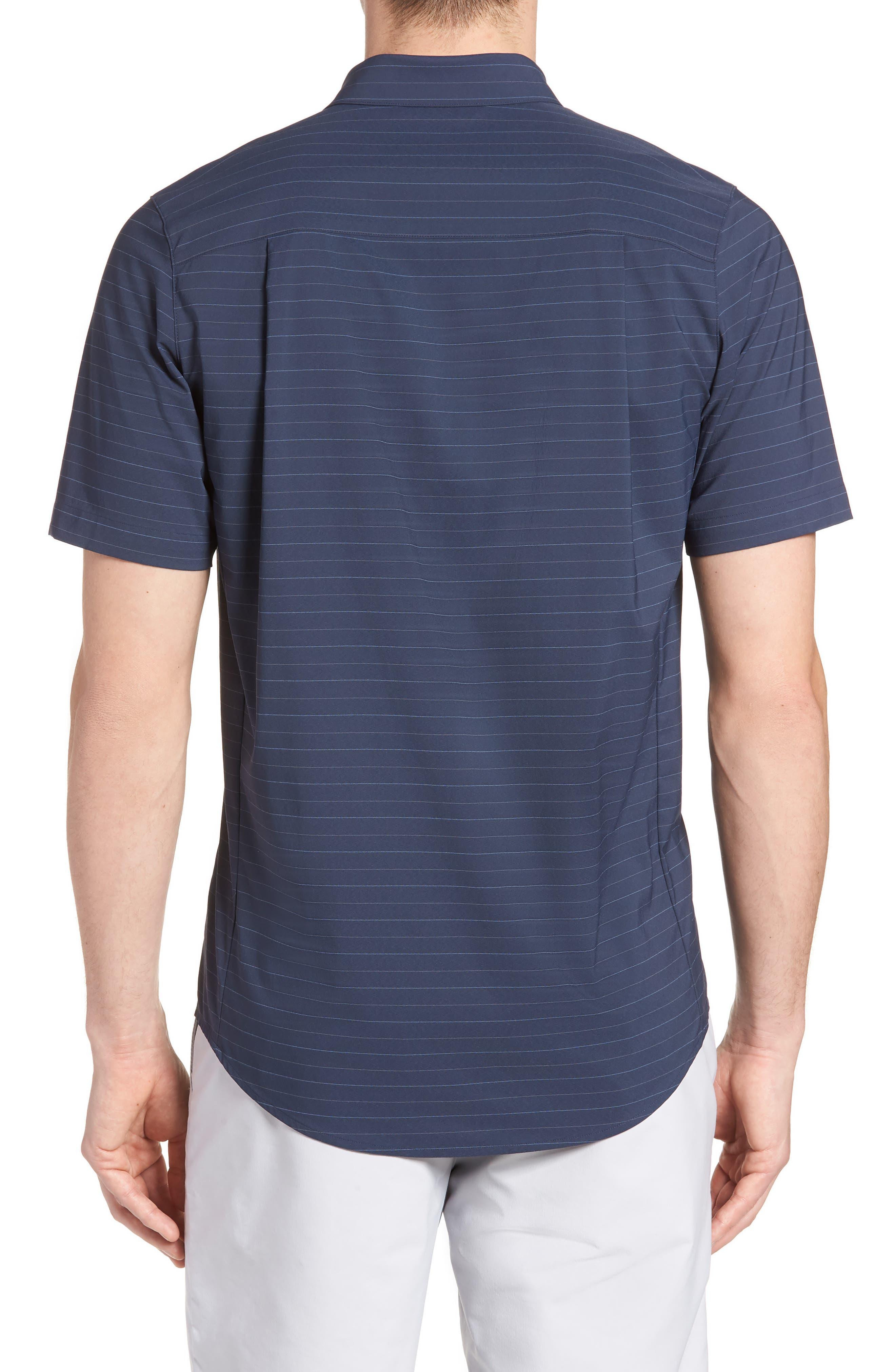 Vagabond Regular Fit Sport Shirt,                             Alternate thumbnail 2, color,                             HEATHER BLUE NIGHTS