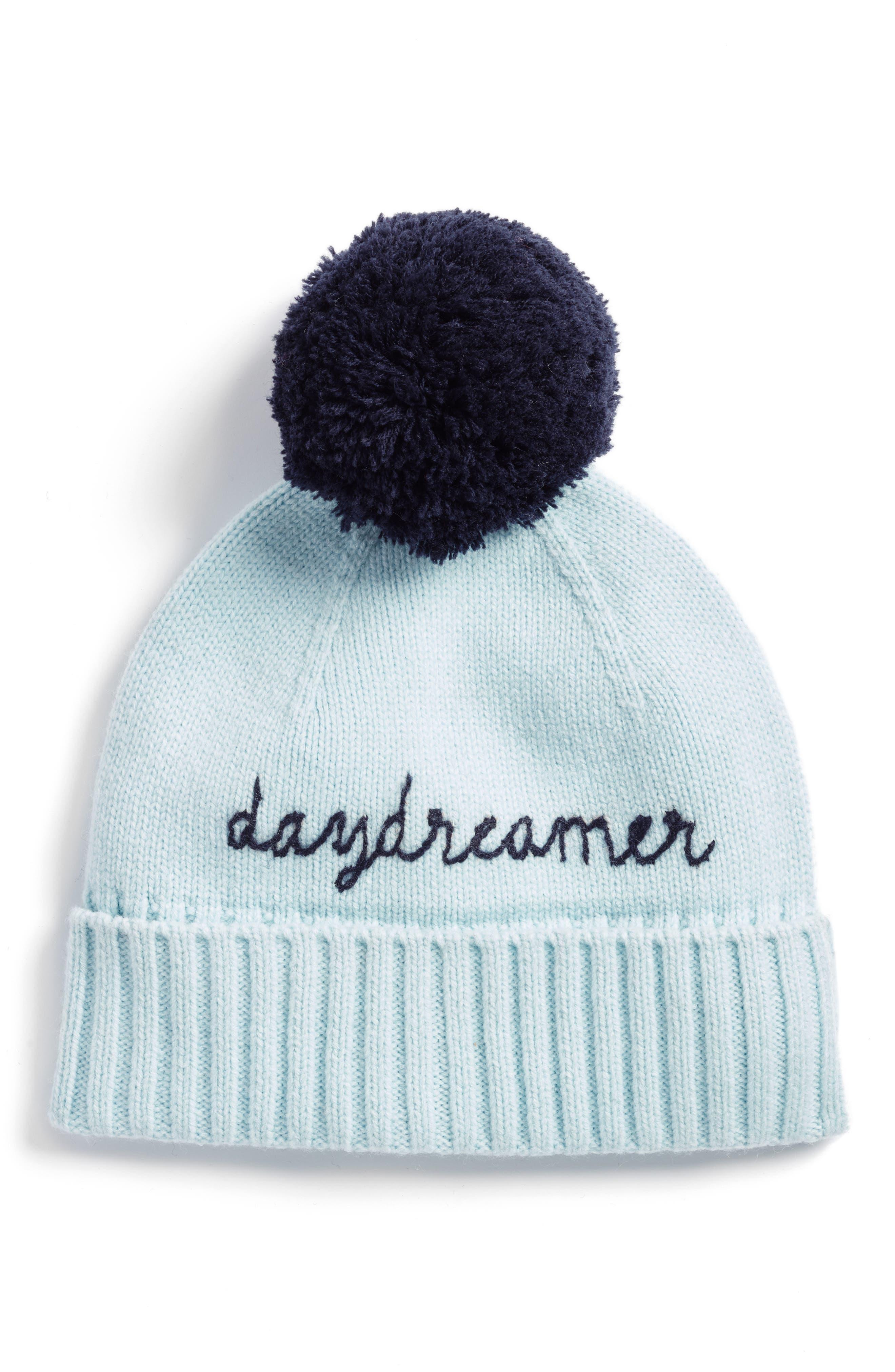 daydreamer beanie,                             Main thumbnail 1, color,                             ICY BLUE/ RICH NAVY