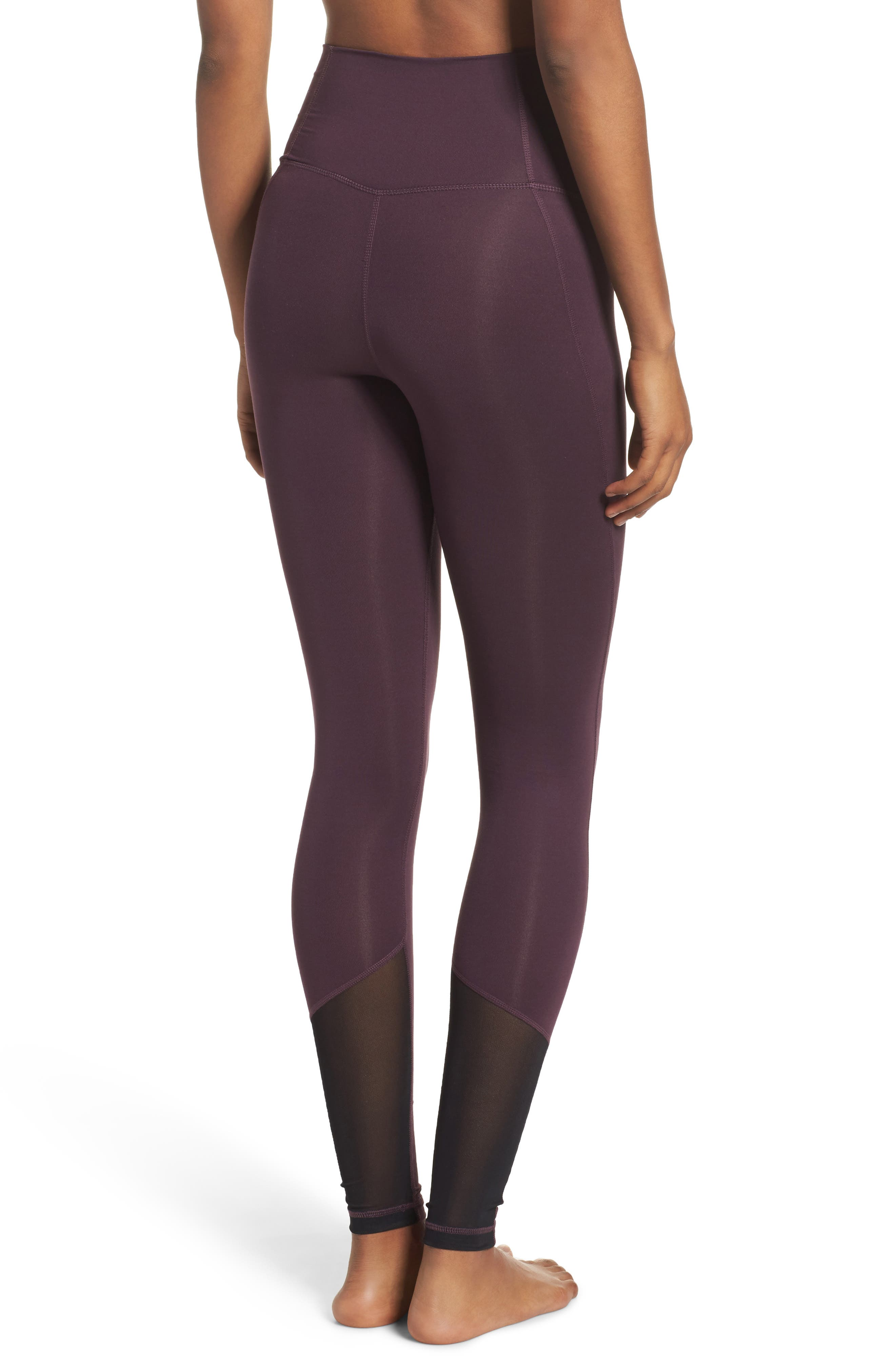 High Waist Asana Light Leggings,                             Alternate thumbnail 7, color,