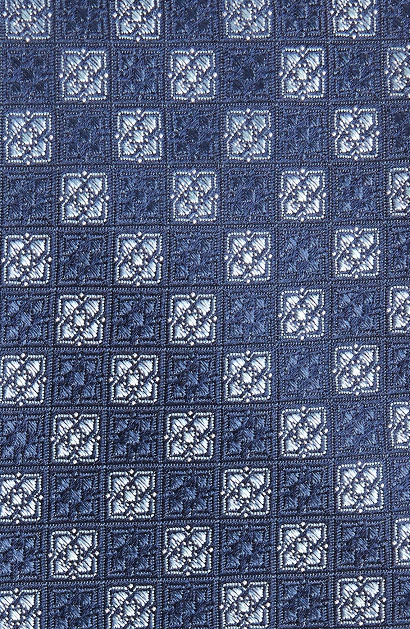 Kaye Medallion Silk Tie,                             Alternate thumbnail 2, color,                             410