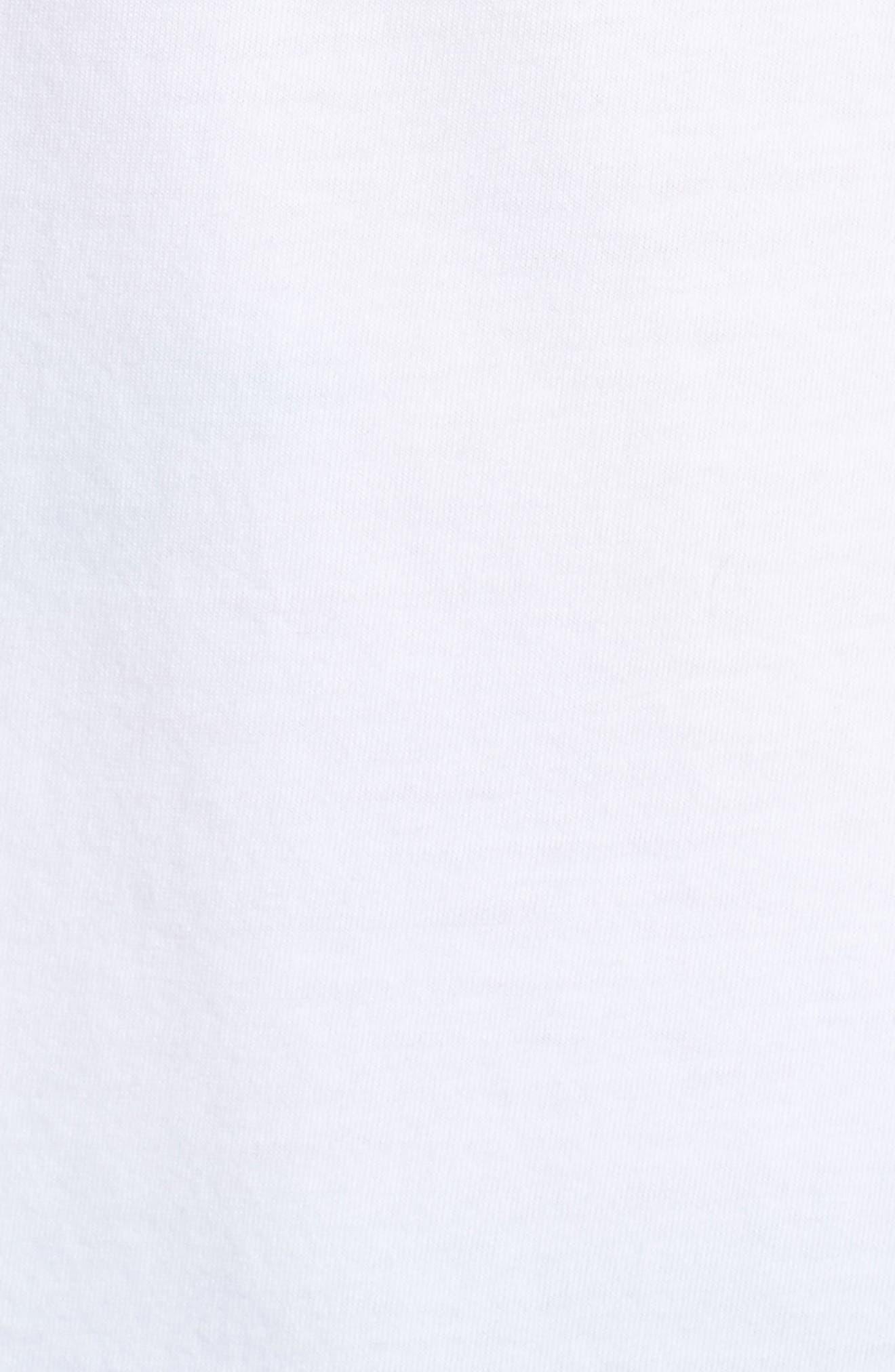 T-Just-SW T-Shirt,                             Alternate thumbnail 5, color,                             100