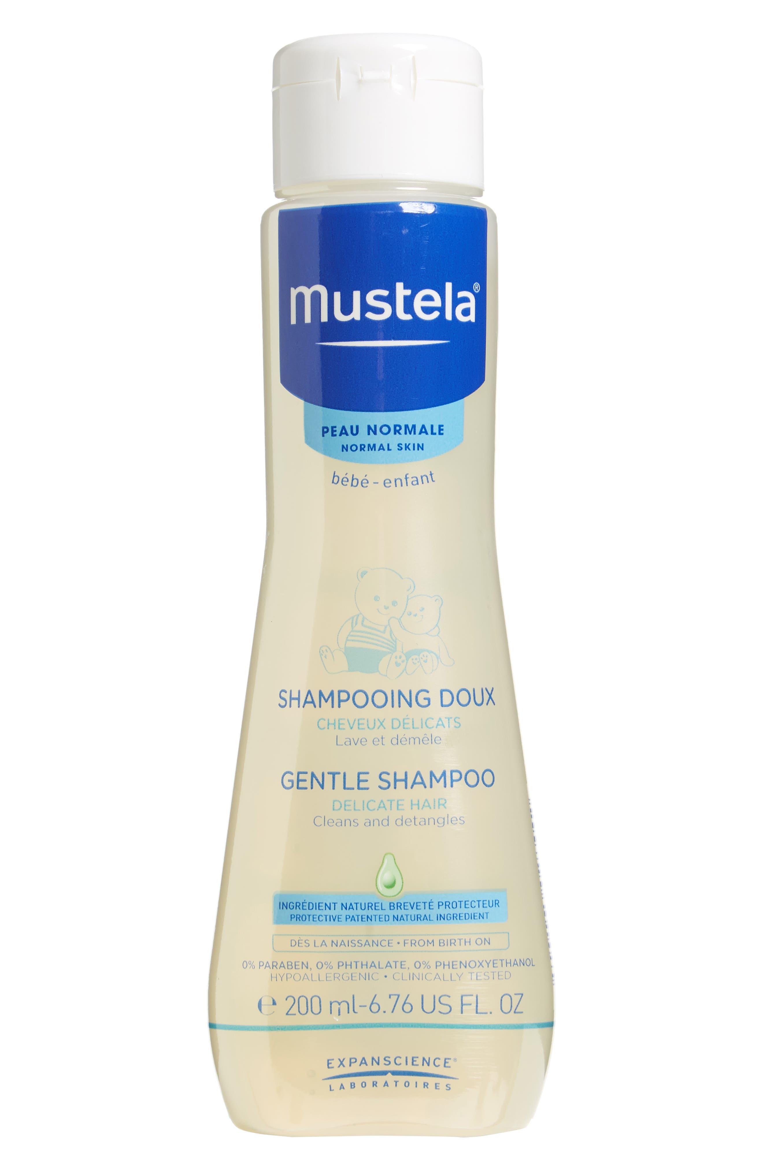 Mustela Gentle Shampoo Size