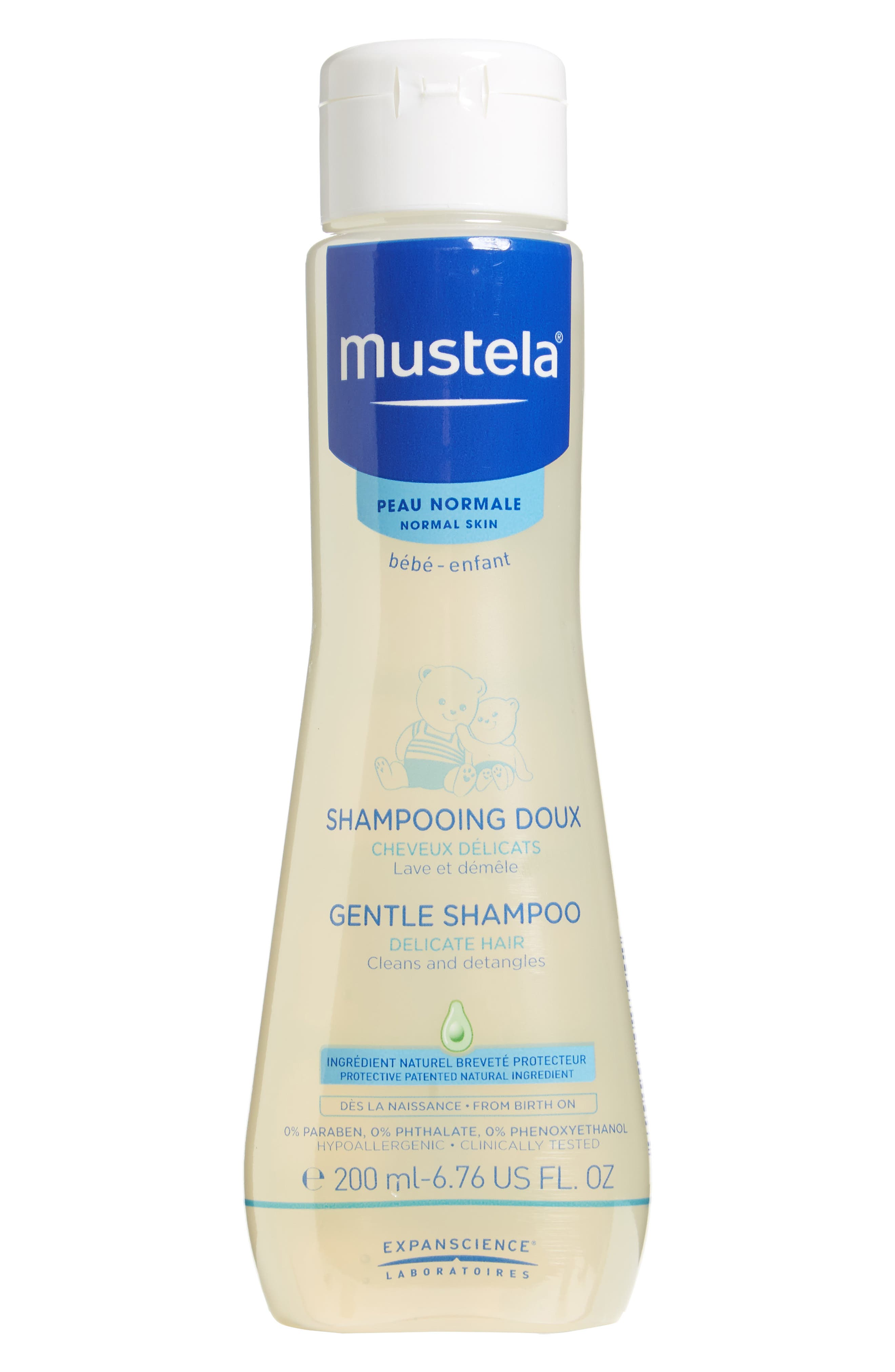 Gentle Shampoo,                         Main,                         color, WHITE