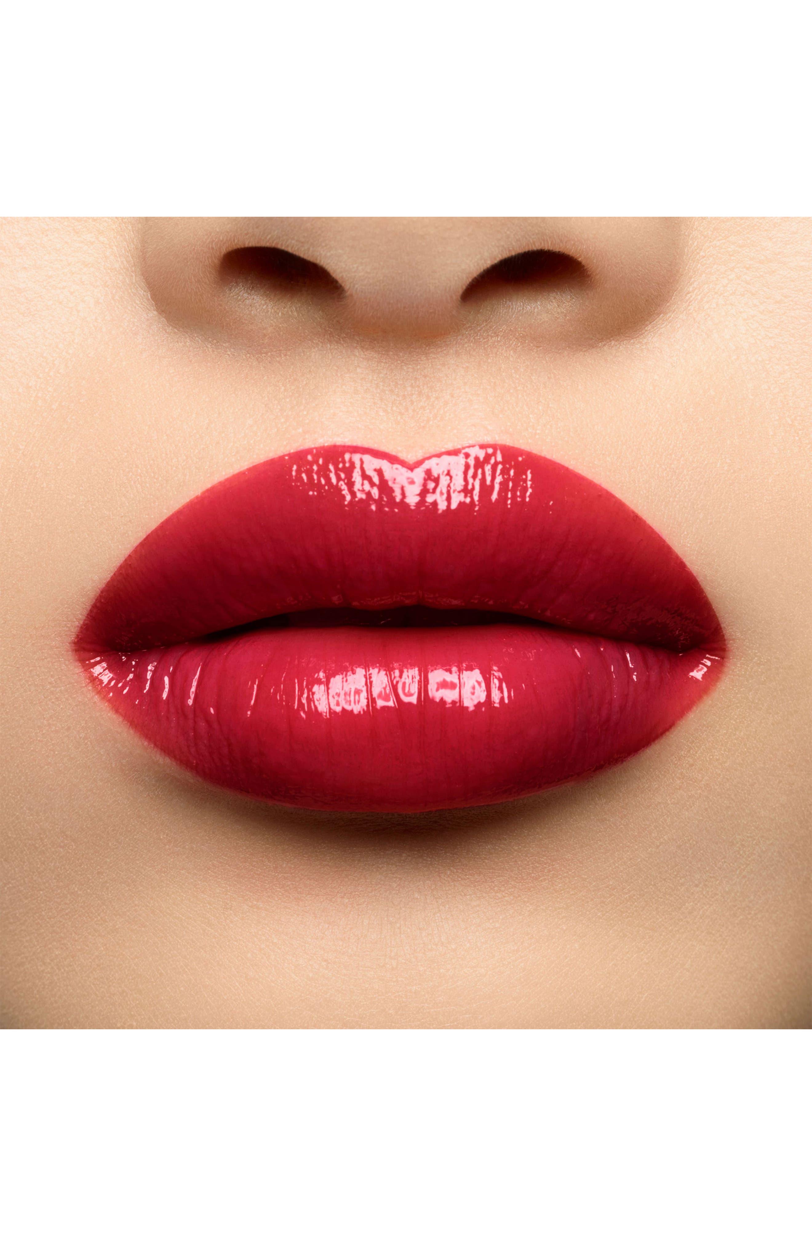Volupté Plump-in-Color Plumping Lip Balm,                             Alternate thumbnail 3, color,                             06 LUNATIC RED