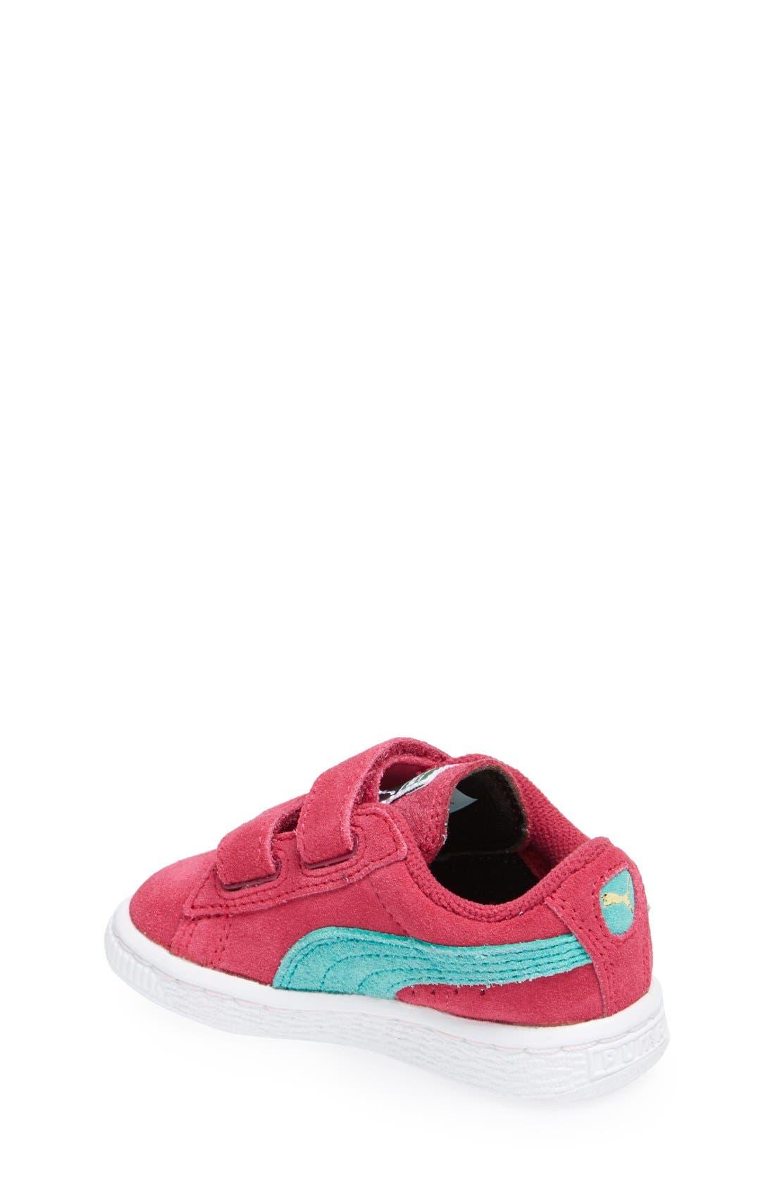Suede Sneaker,                             Alternate thumbnail 42, color,