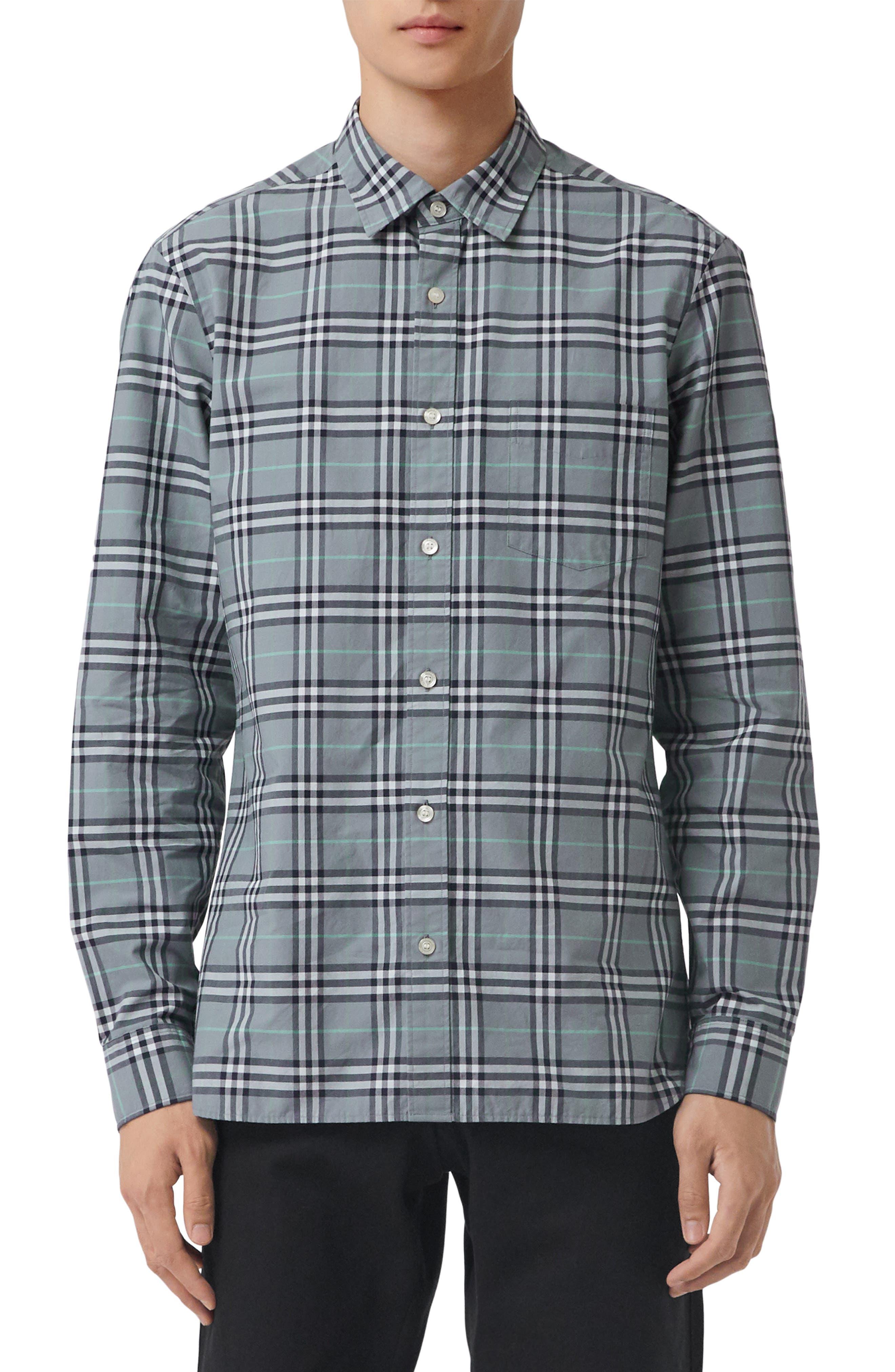 Alexander Check Sport Shirt,                         Main,                         color, 400
