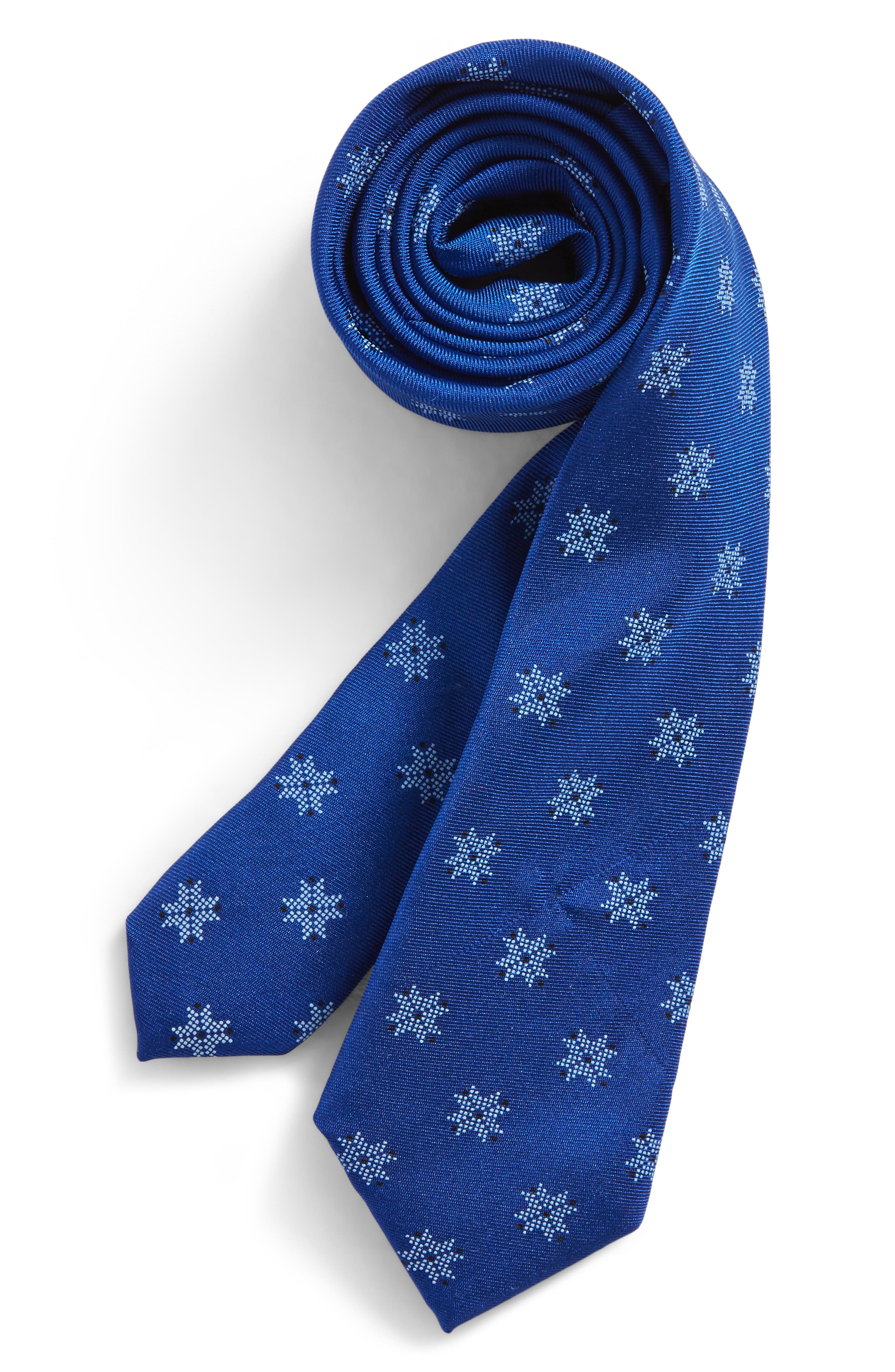 Patterned Silk Tie,                             Main thumbnail 9, color,