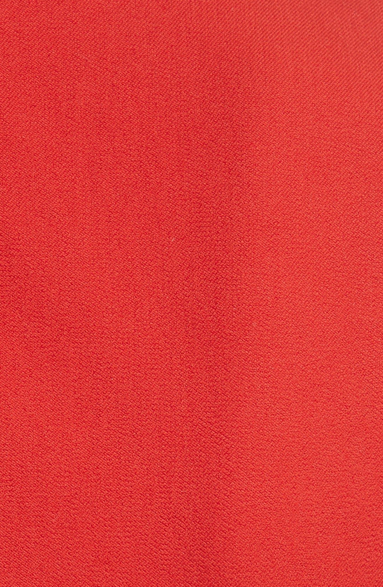 Scallop Hem Dress,                             Alternate thumbnail 5, color,                             623