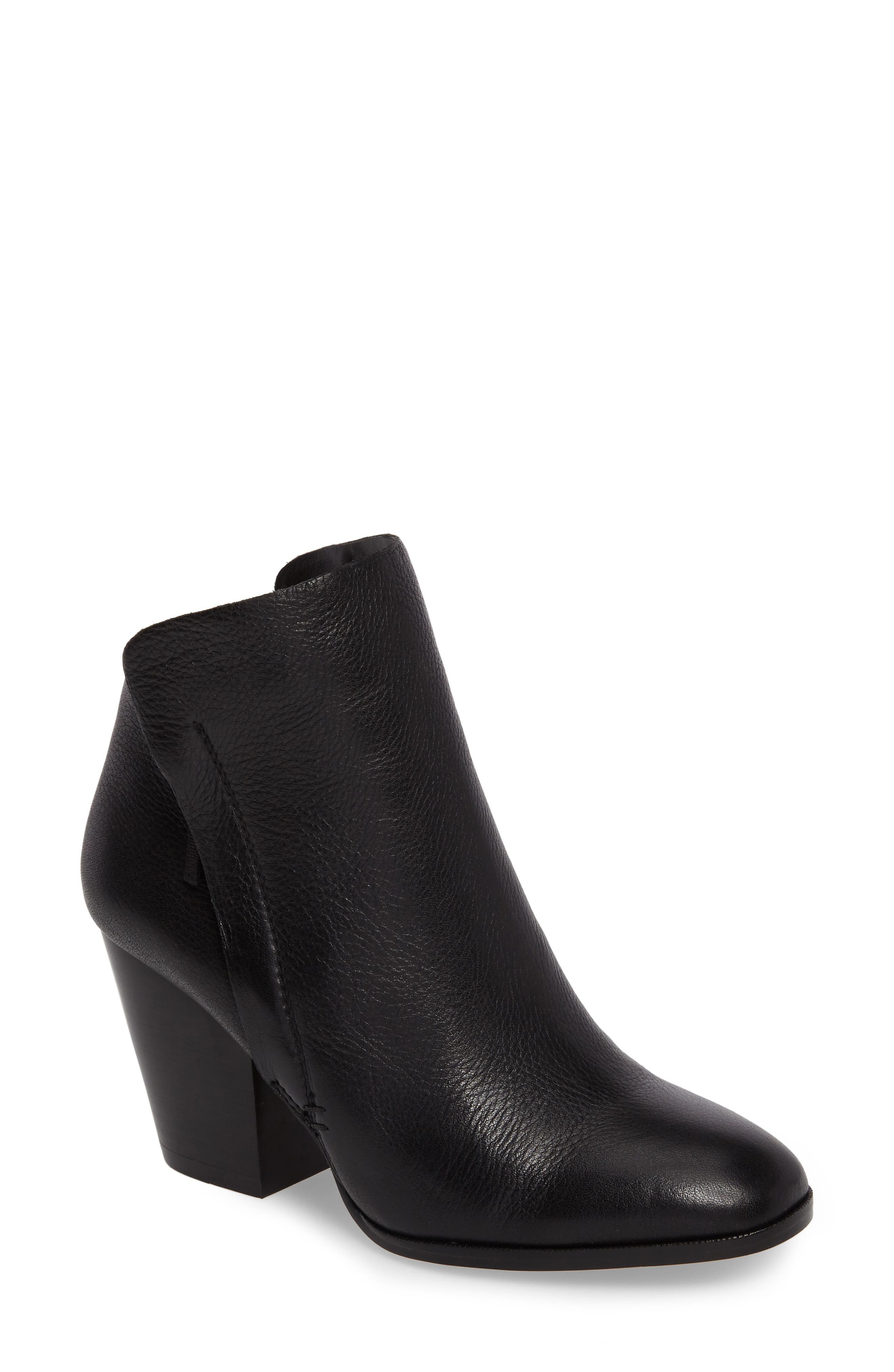 Taila Angle Zip Bootie,                             Main thumbnail 1, color,