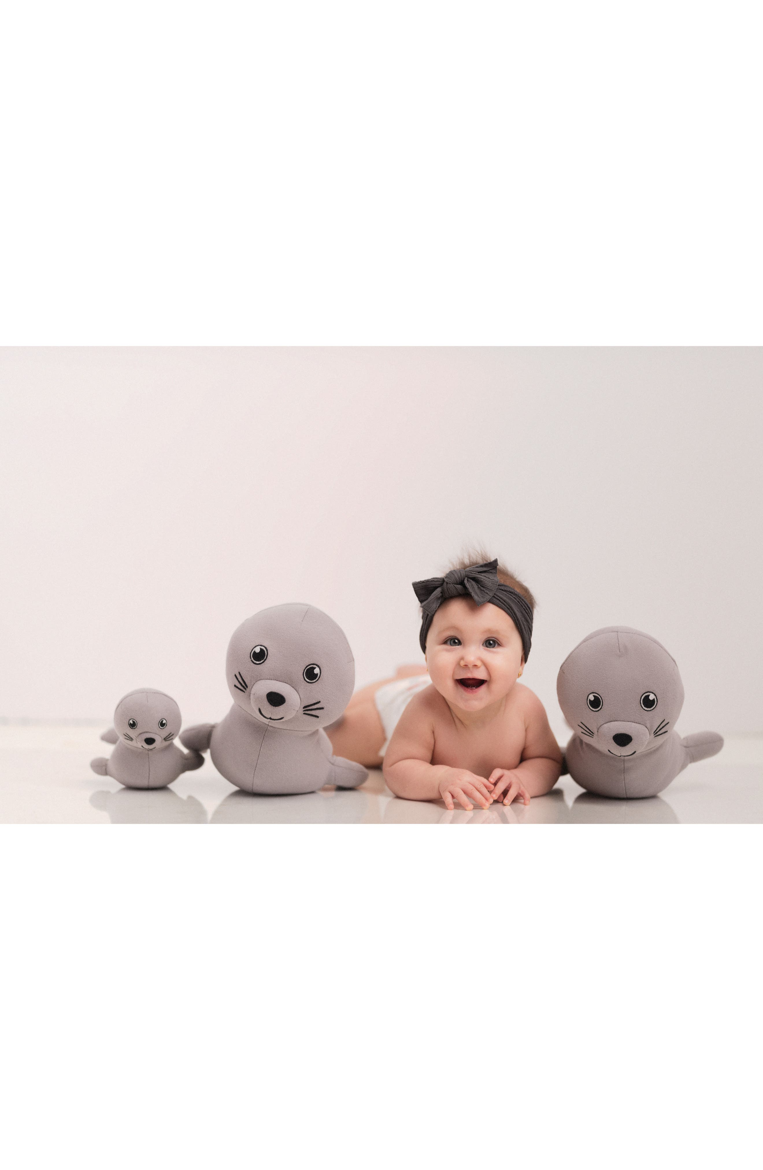 ELLY LU ORGANICS,                             Makana Monk Seal Stuffed Animal,                             Alternate thumbnail 6, color,                             500