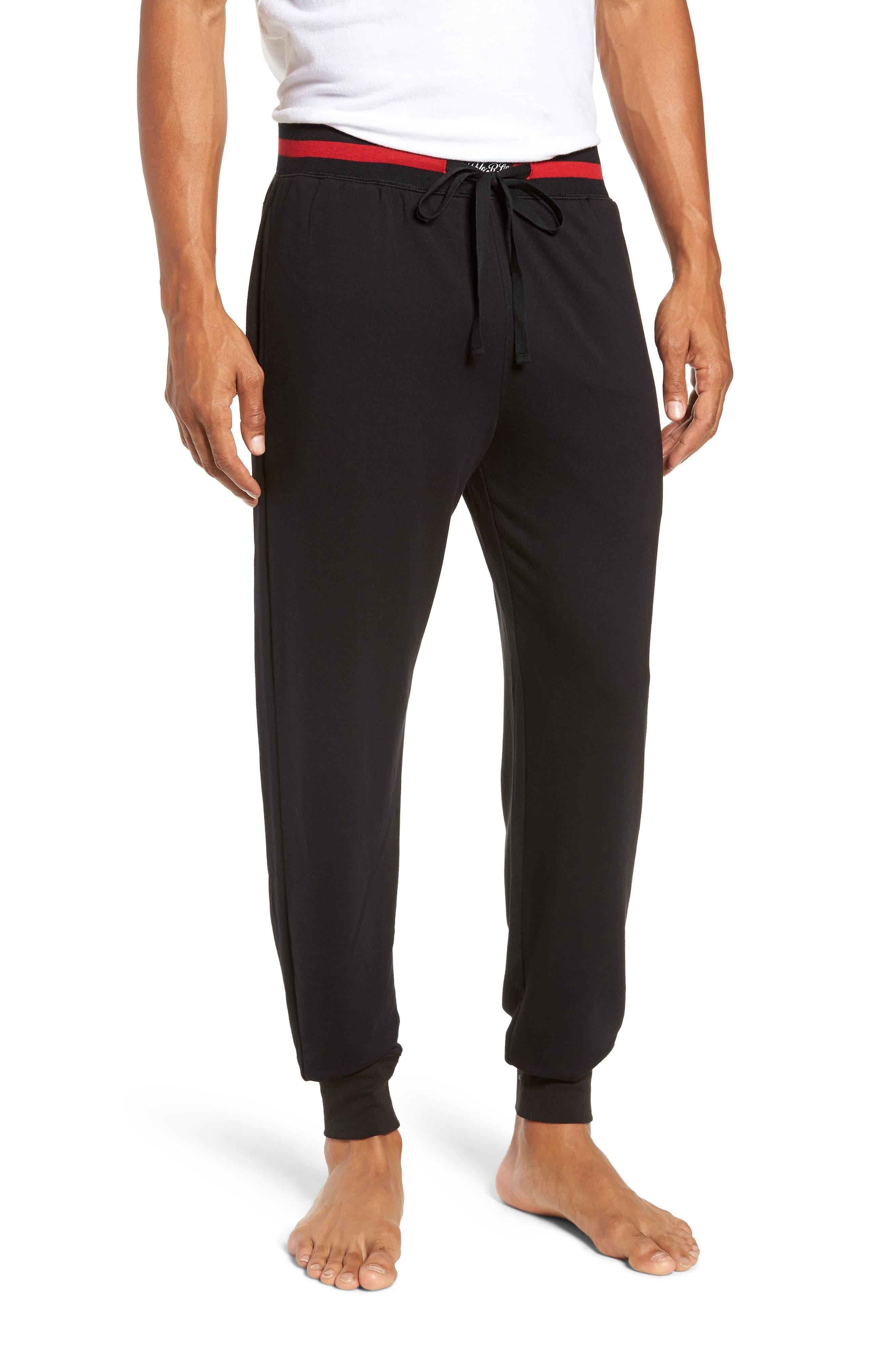Jogger Pants,                         Main,                         color, POLO BLACK