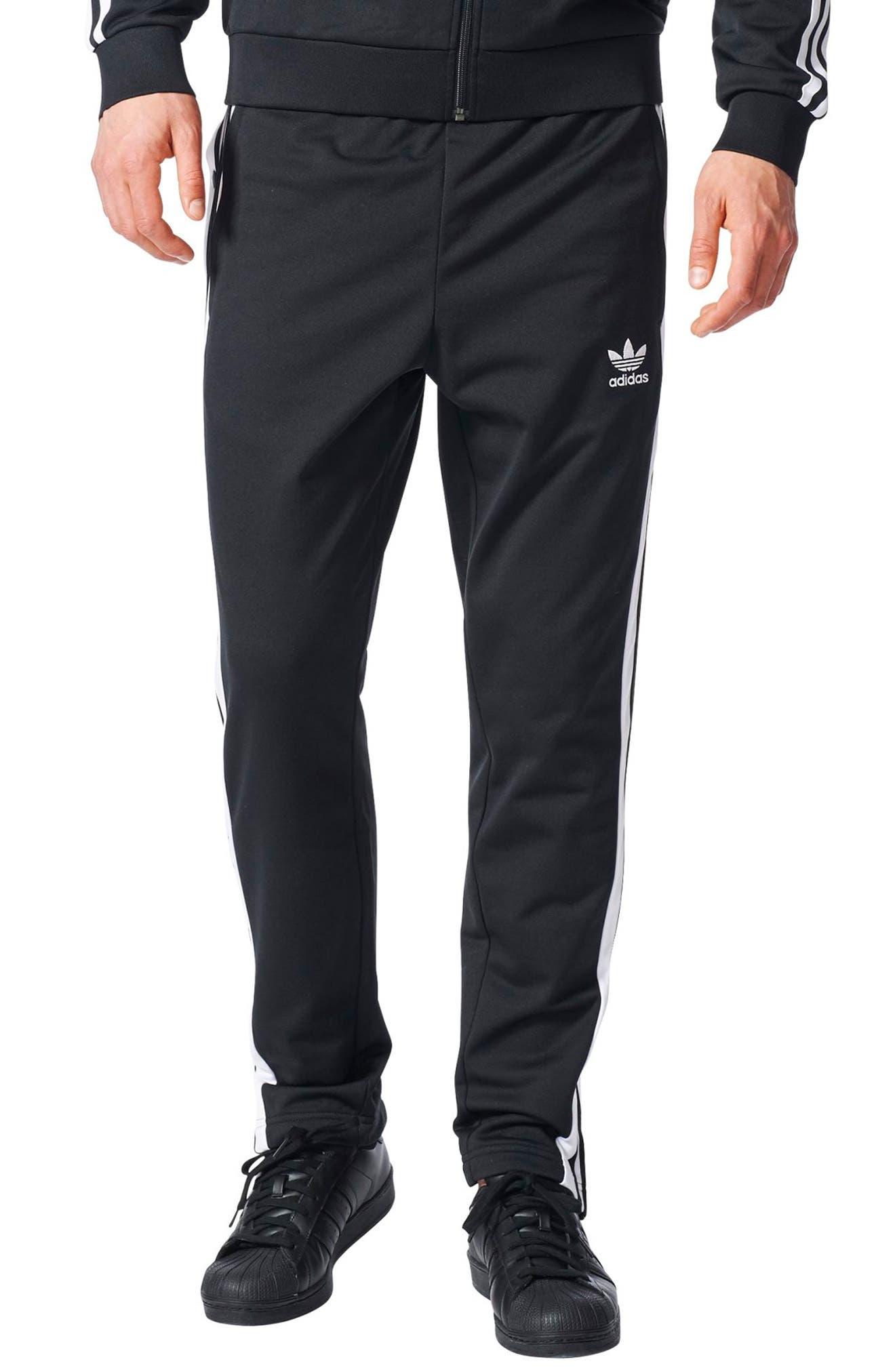 Adibreak Tearaway Track Pants, Main, color, 001