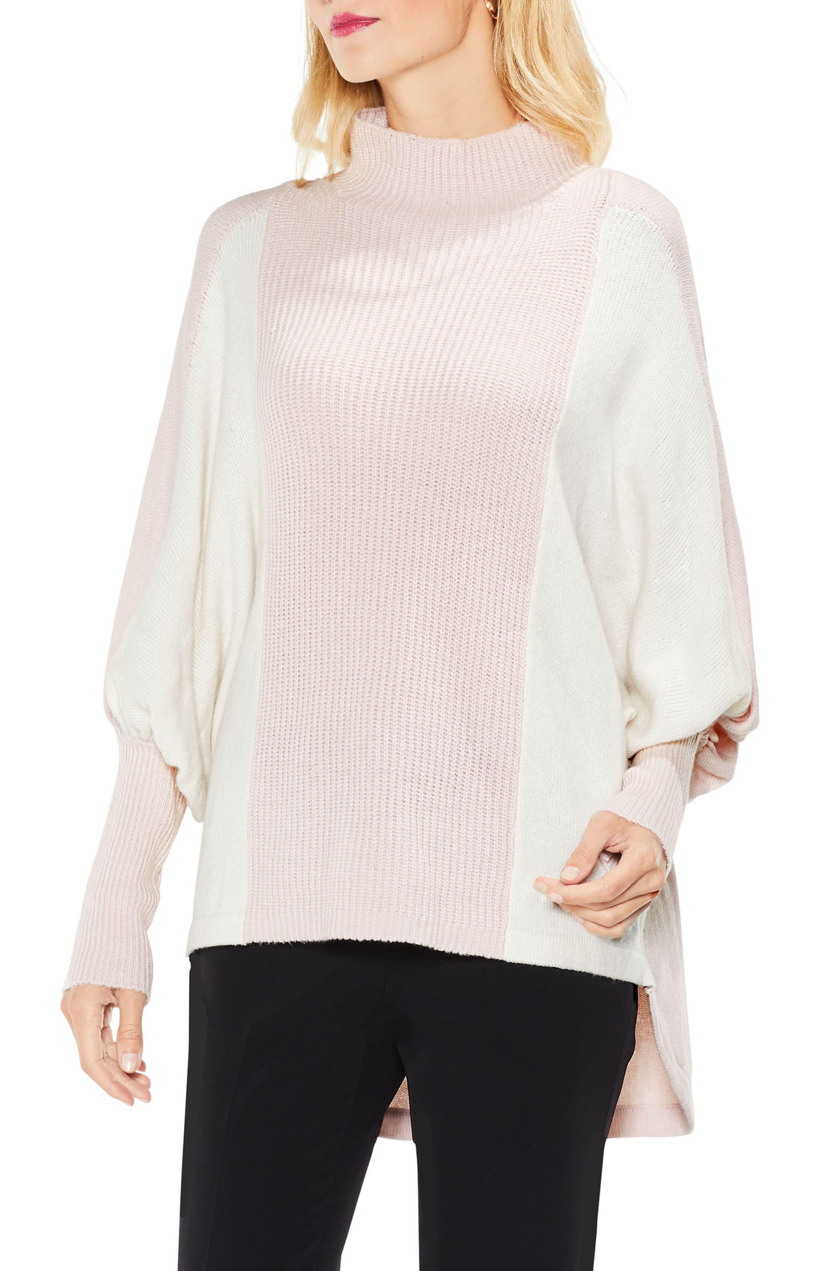 Dolman Sleeve Colorblock Sweater,                             Main thumbnail 3, color,
