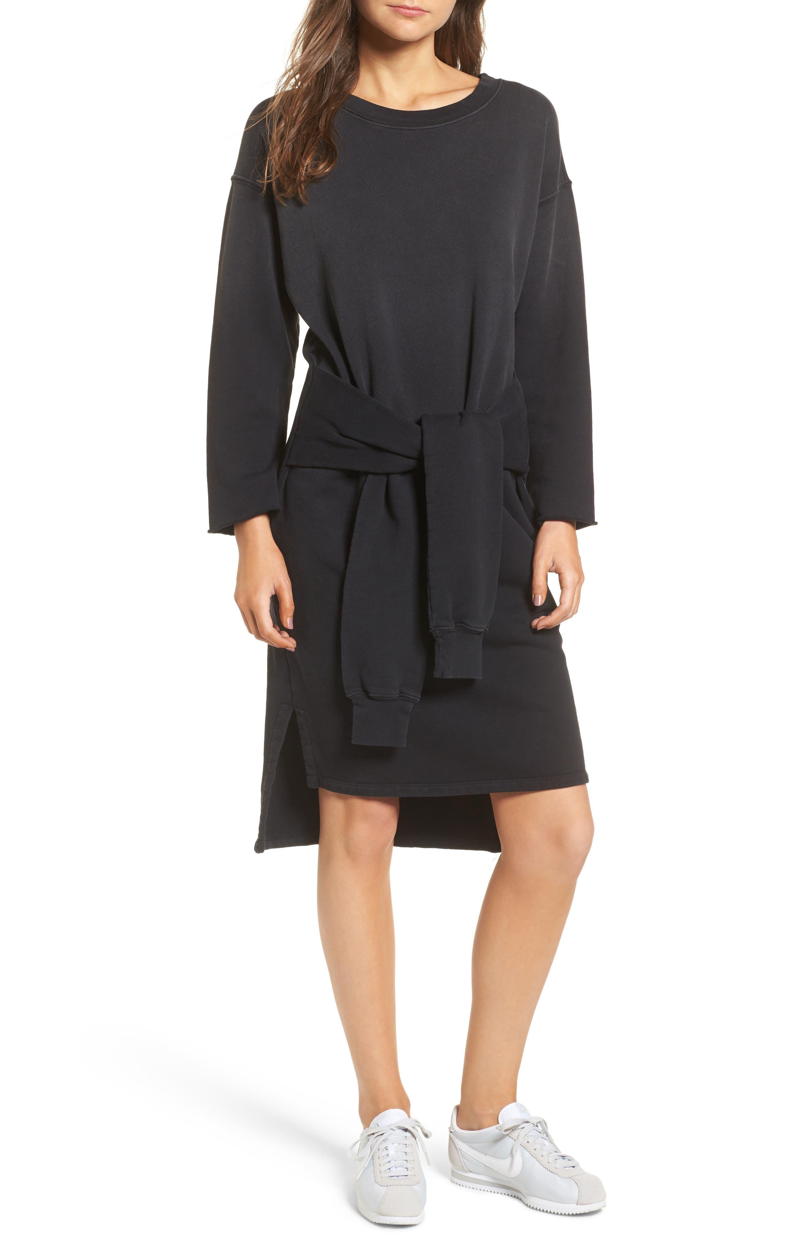 The Double Sweatshirt Dress,                             Main thumbnail 1, color,