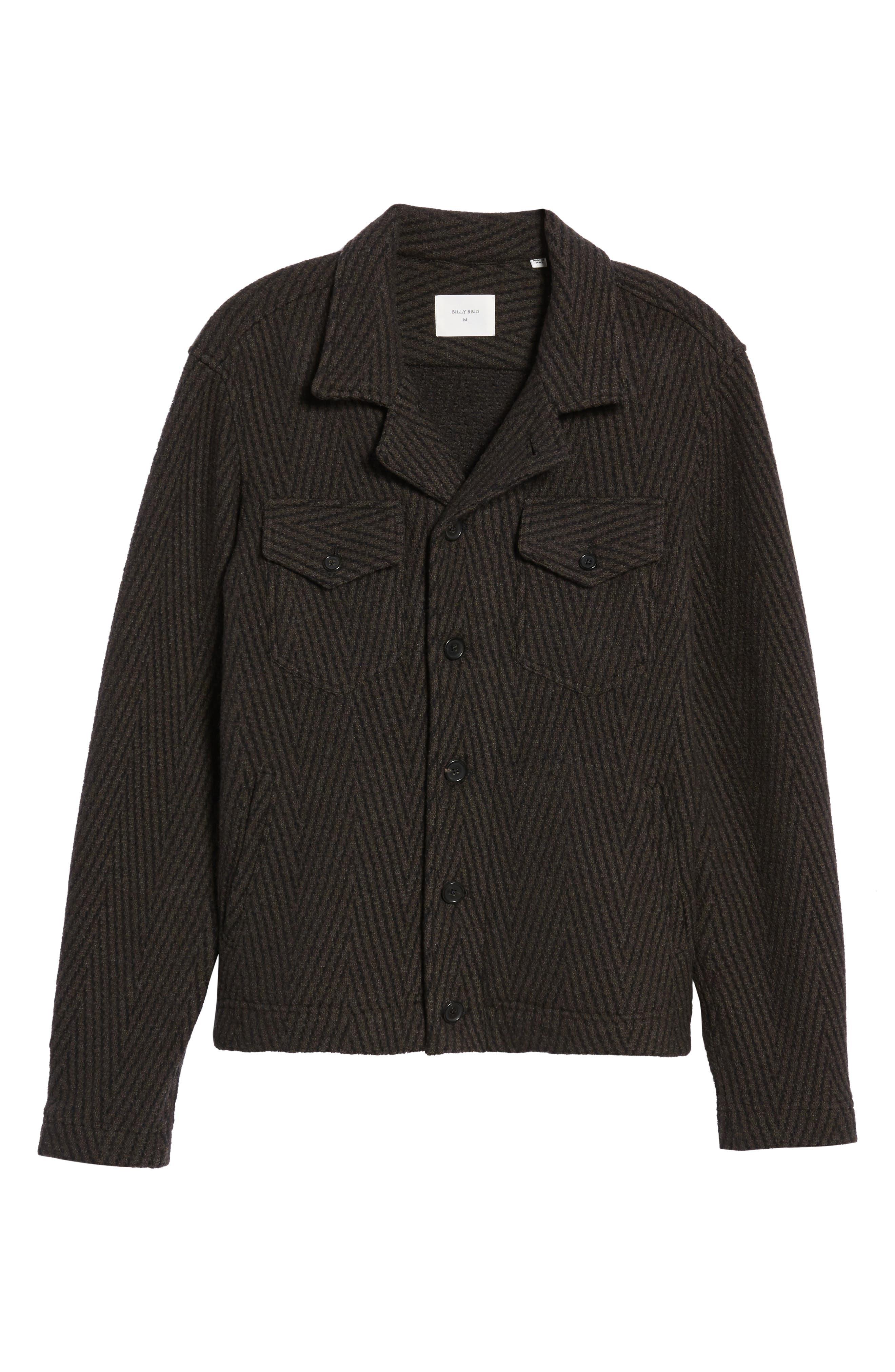 Berger Wool Shirt Jacket,                             Alternate thumbnail 5, color,                             200