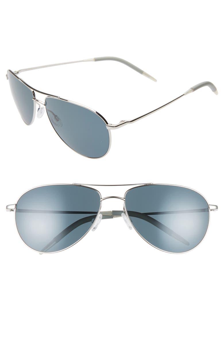 8c5172f7f2f Oliver Peoples Benedict 59mm Aviator Sunglasses