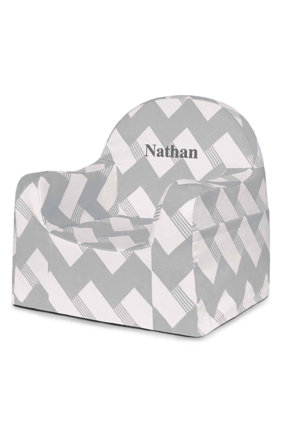 'Personalized Little Reader' Chair,                             Main thumbnail 1, color,                             020