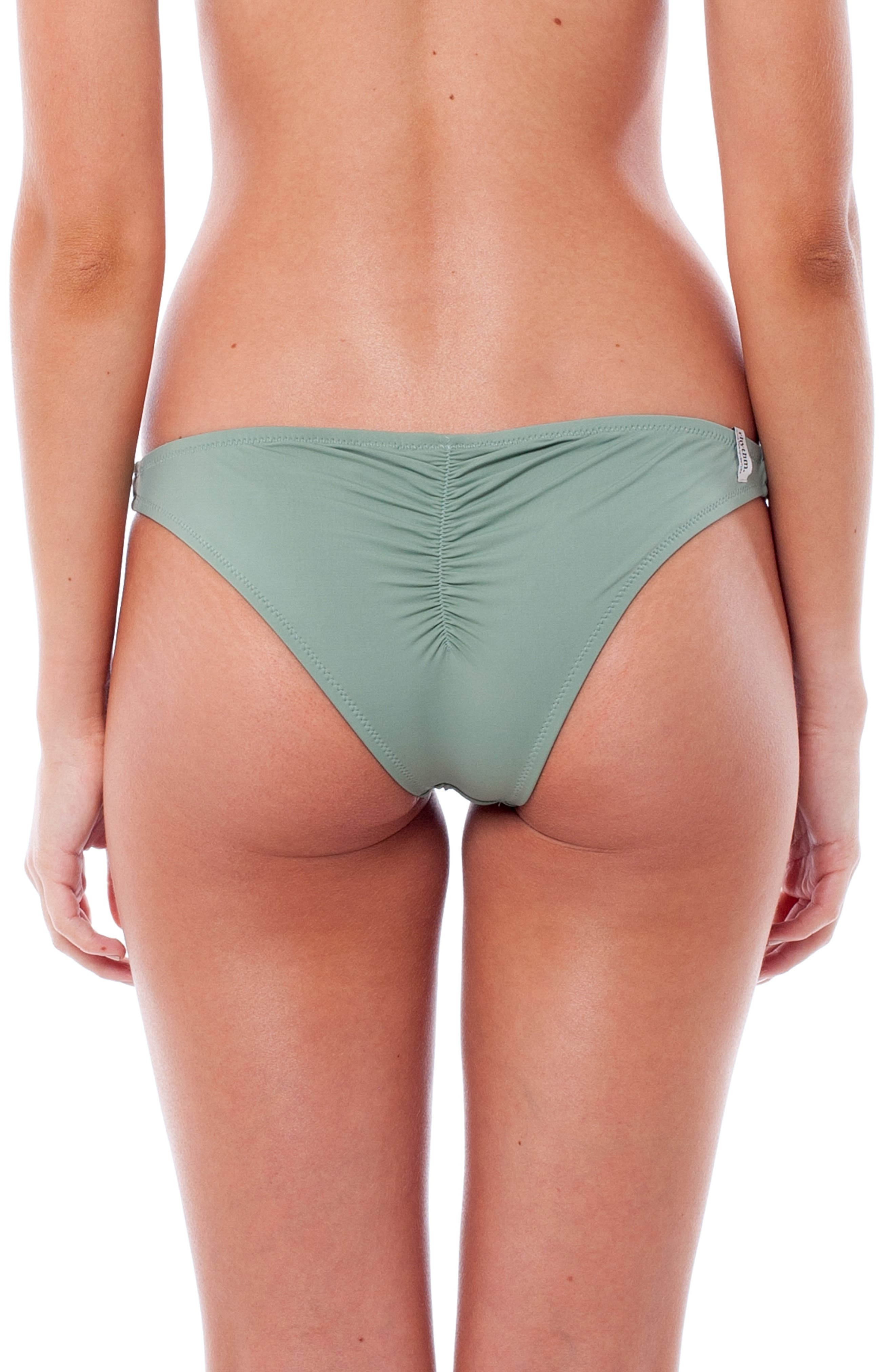My Cheeky Bikini Bottoms,                             Alternate thumbnail 2, color,                             CACTUS