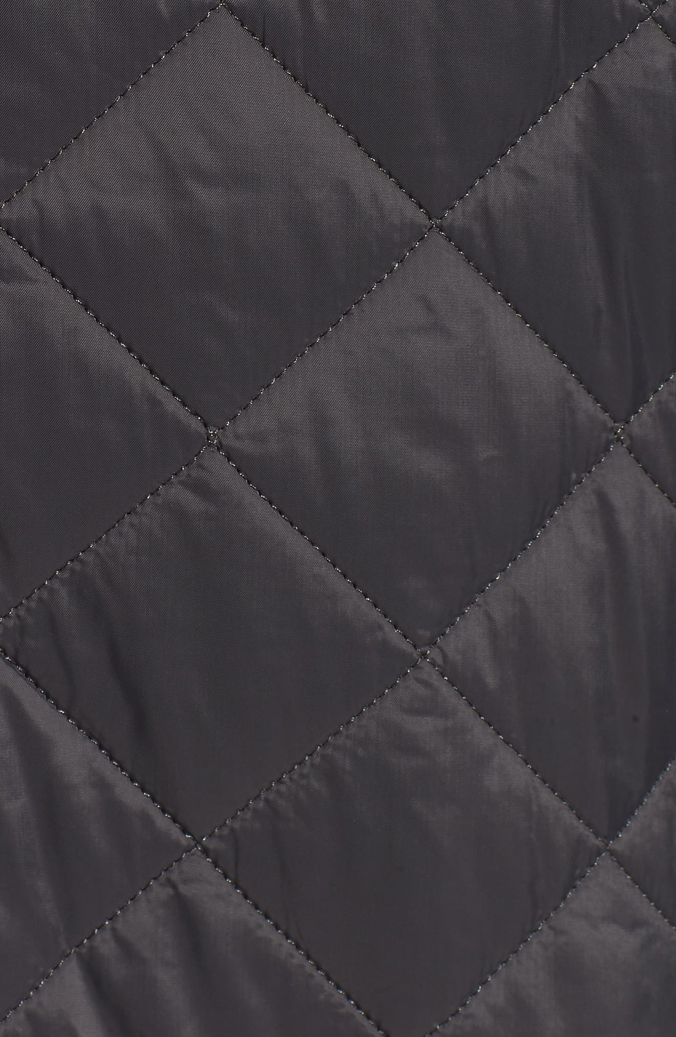 International Windshield Quilted Jacket,                             Alternate thumbnail 7, color,                             CHARCOAL