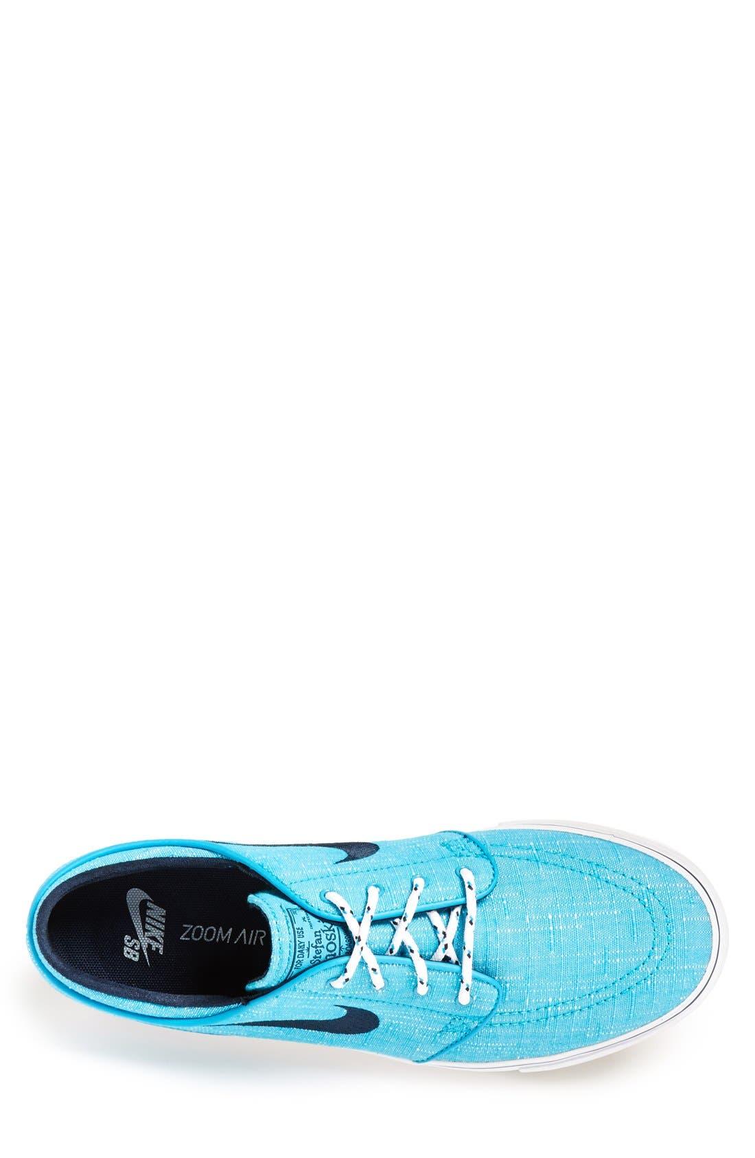 Zoom - Stefan Janoski SB Canvas Skate Shoe,                             Alternate thumbnail 78, color,