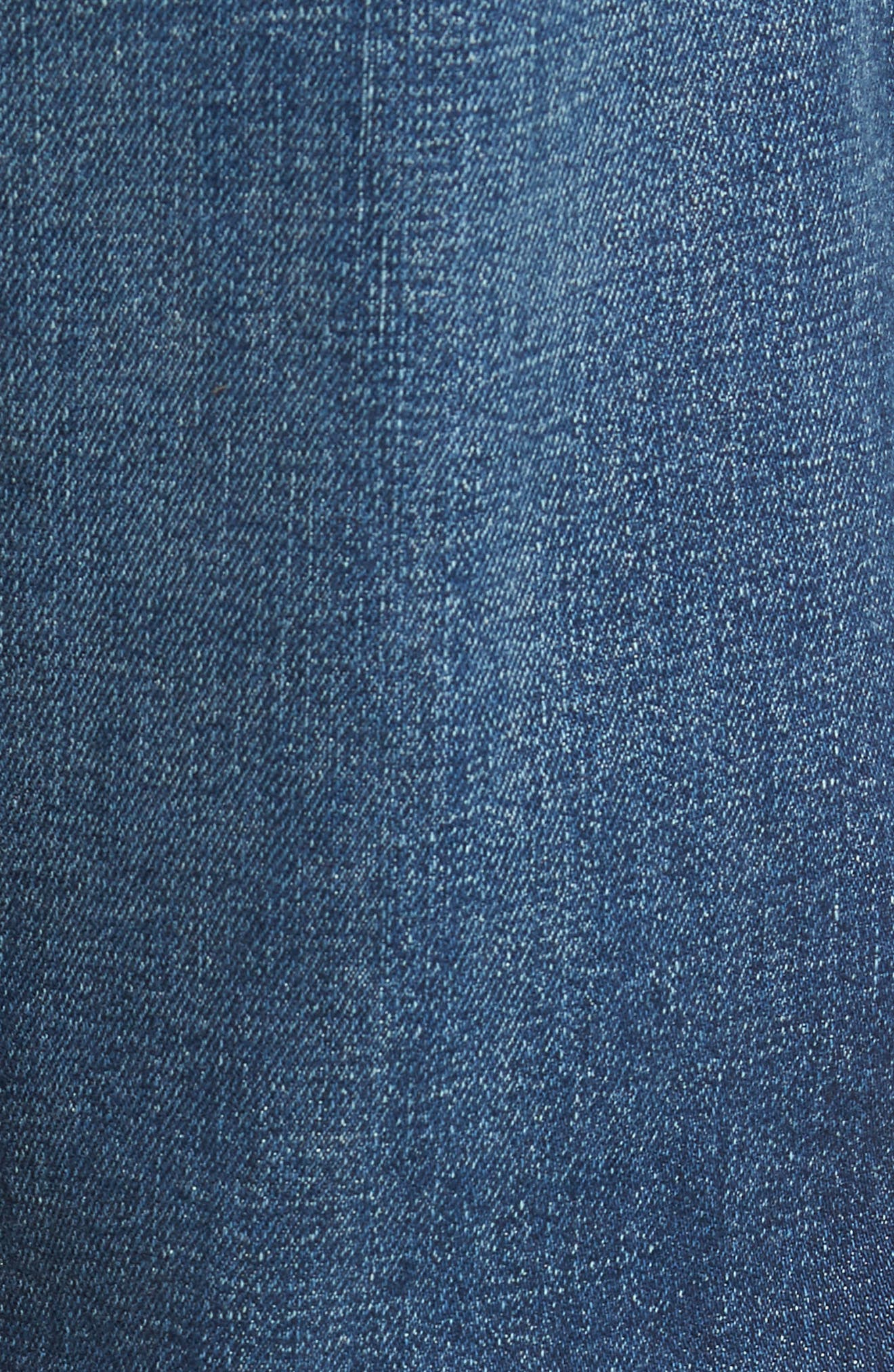 7 FOR ALL MANKIND<SUP>®</SUP>,                             Standard Straight Leg Jeans,                             Alternate thumbnail 5, color,                             400